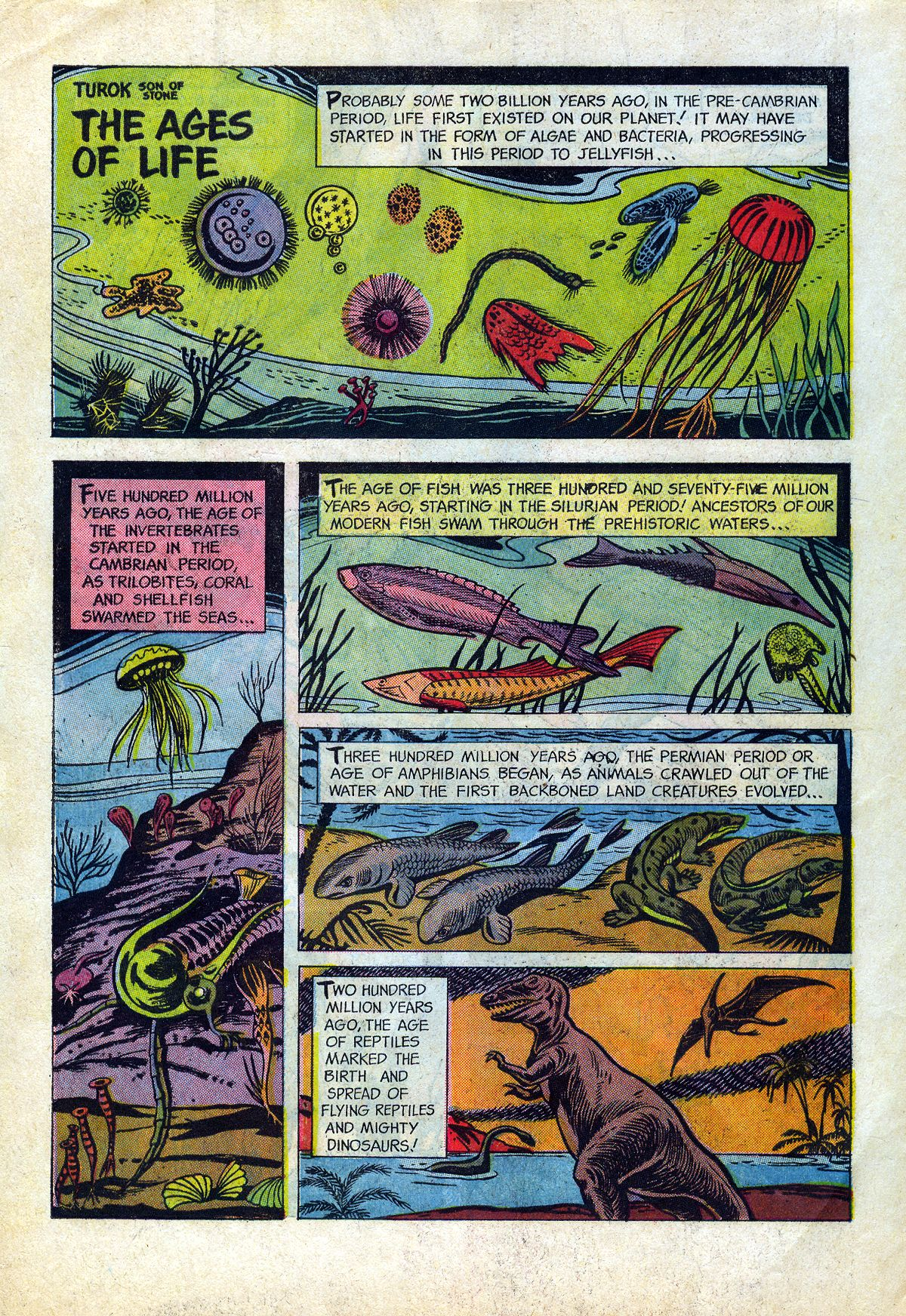 Read online Turok, Son of Stone comic -  Issue #45 - 34