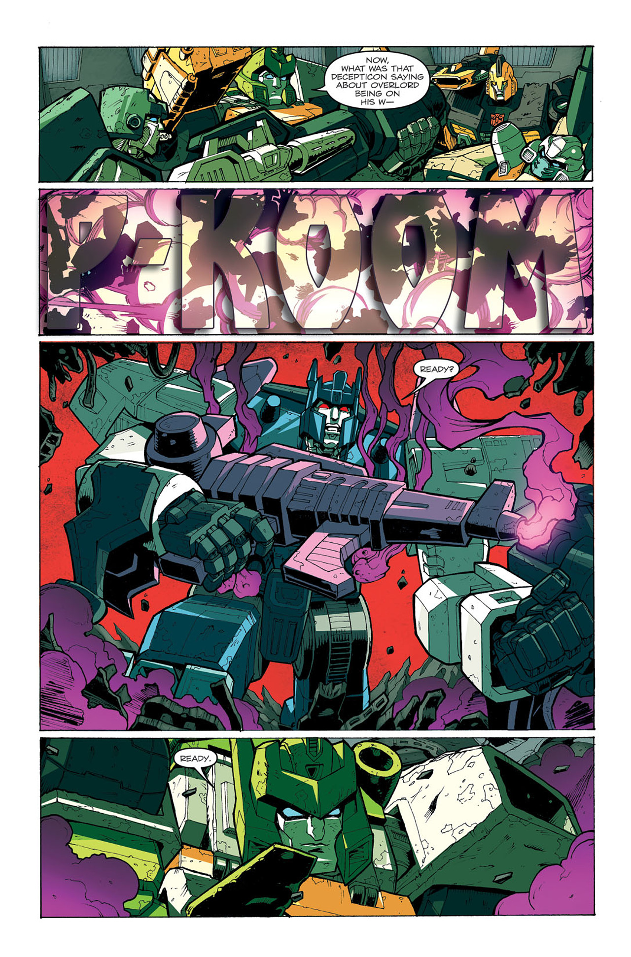 Read online Transformers: Last Stand of The Wreckers comic -  Issue #4 - 24