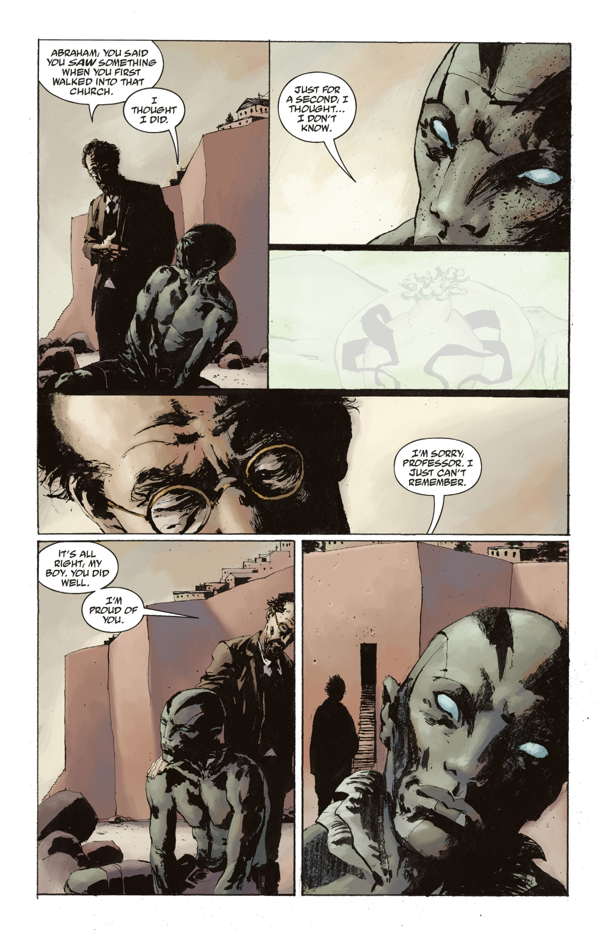 Read online Abe Sapien: The Drowning comic -  Issue #Abe Sapien: The Drowning _TPB - 136