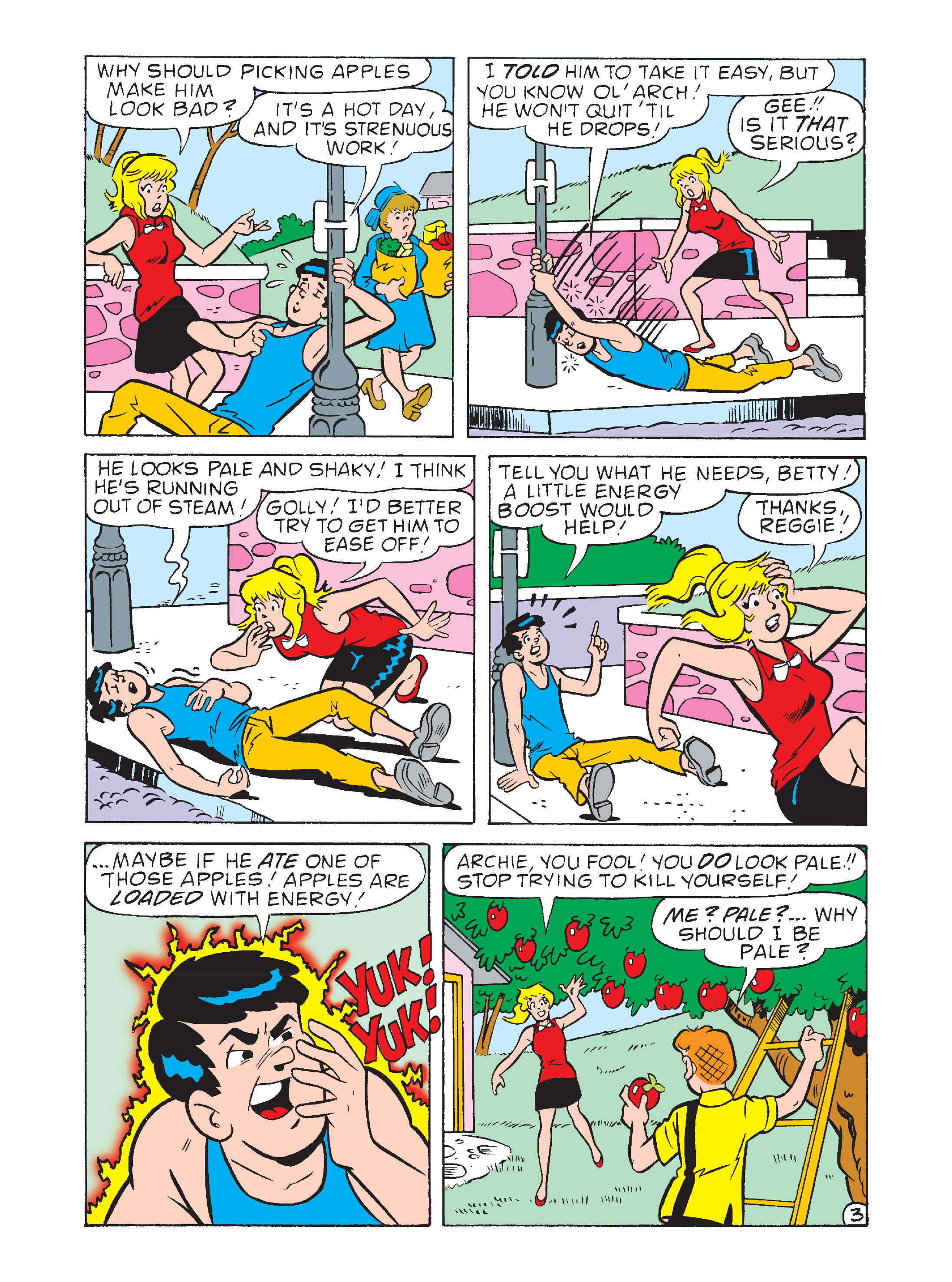 Read online Archie's Funhouse Double Digest comic -  Issue #8 - 113