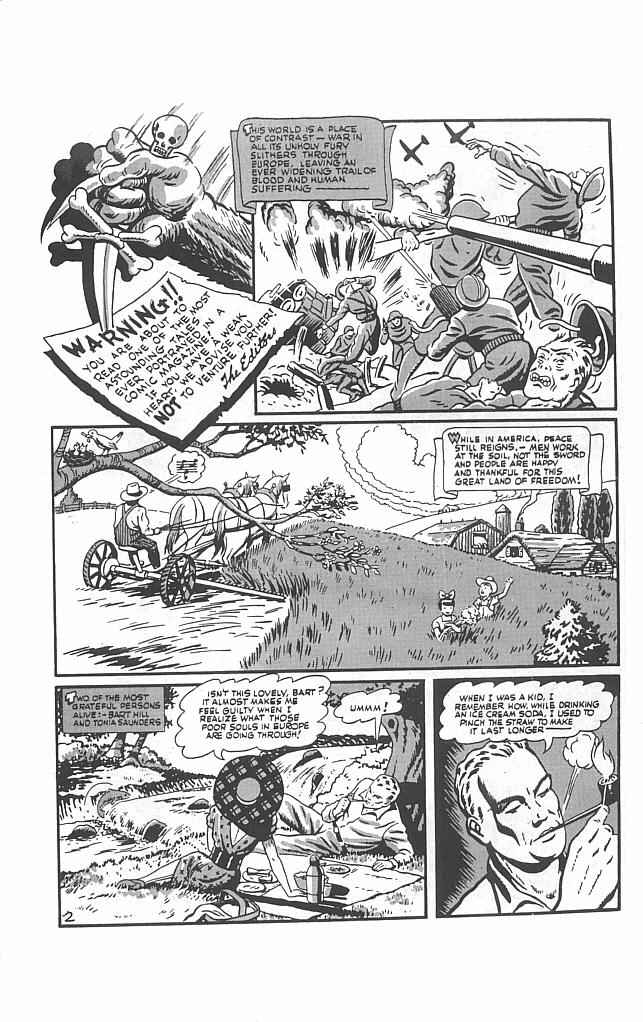 Read online Golden-Age Men of Mystery comic -  Issue #13 - 36
