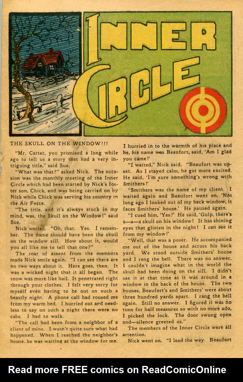 Read online Shadow Comics comic -  Issue #53 - 26