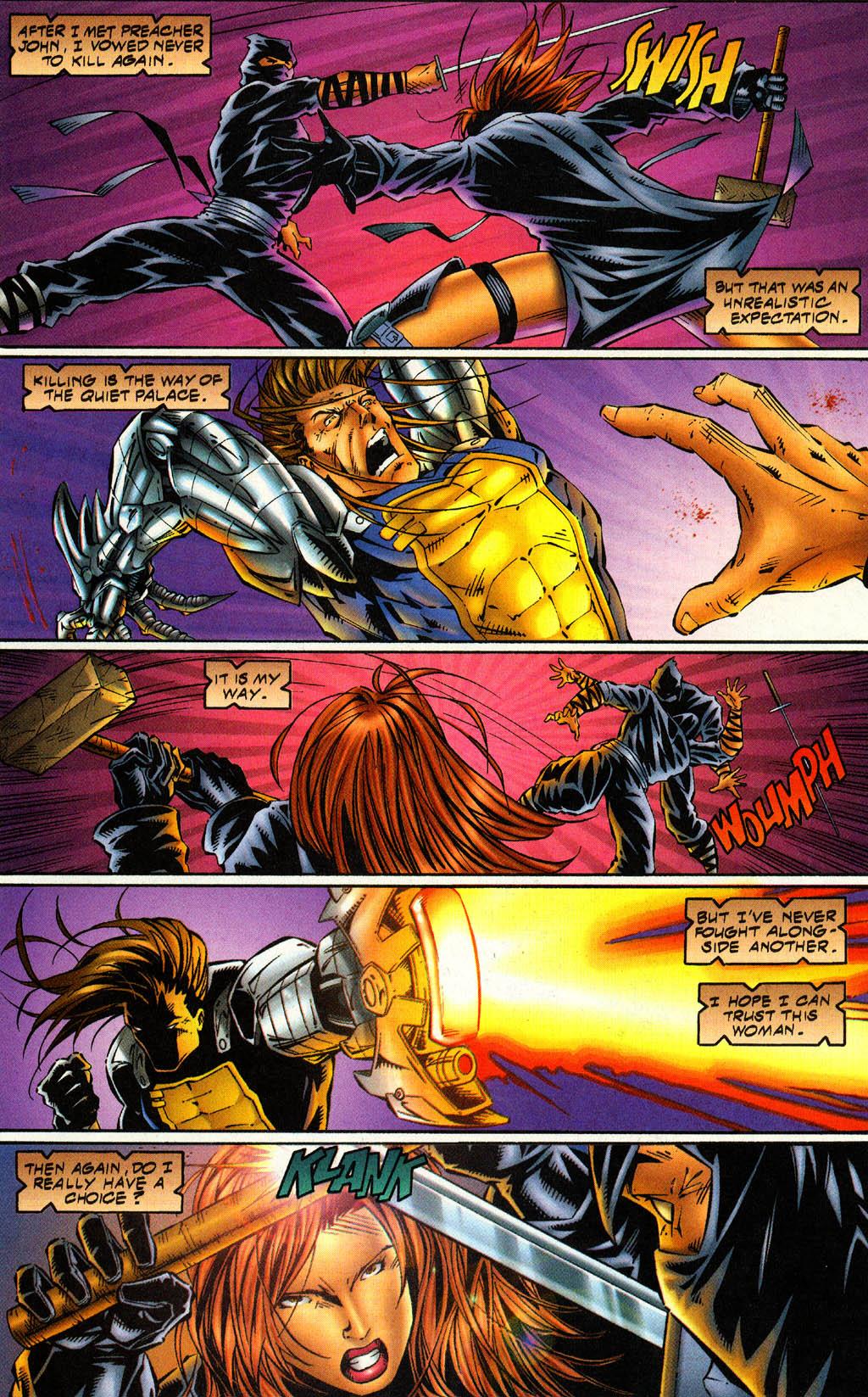 Read online Avengelyne (1996) comic -  Issue #4 - 12