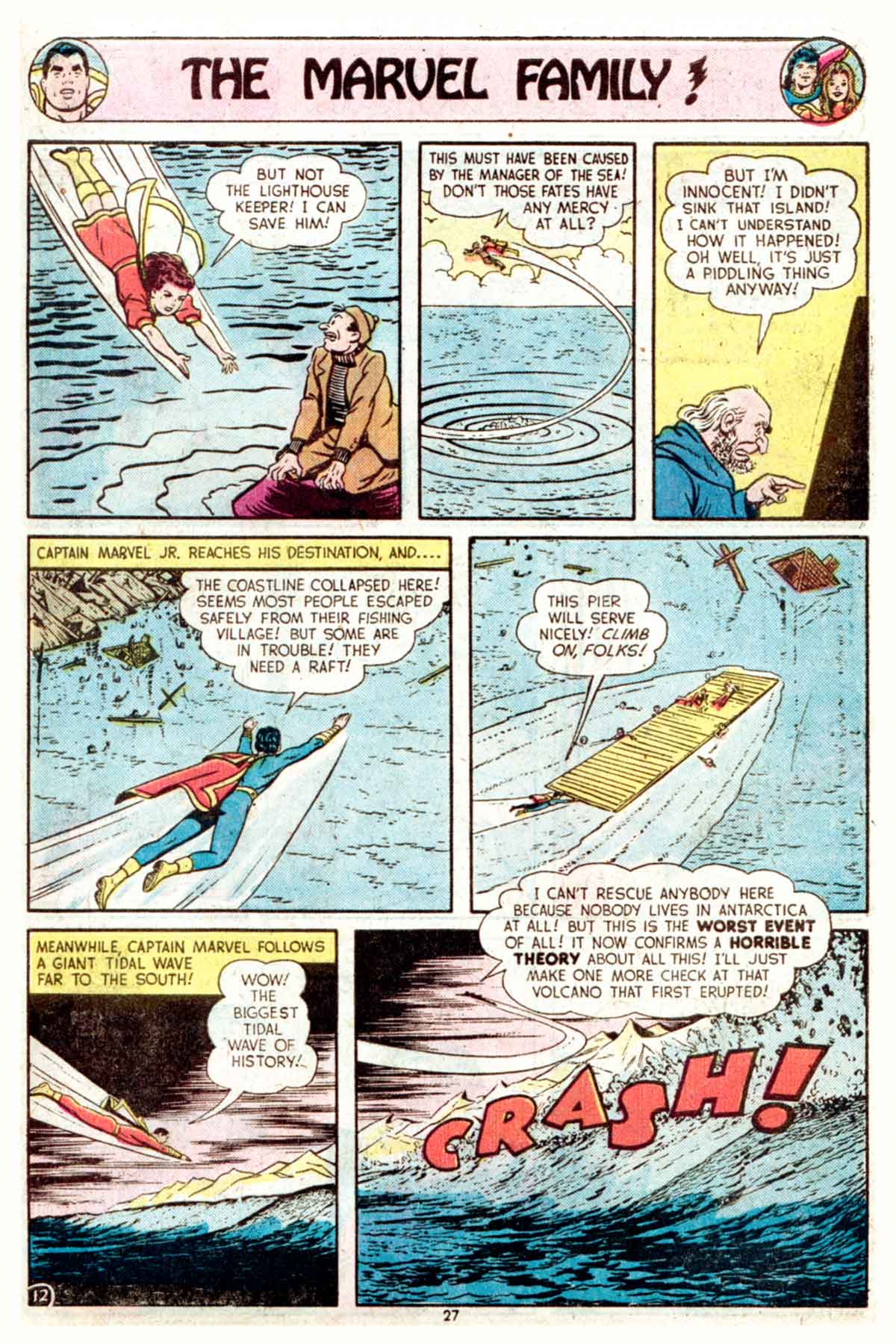 Read online Shazam! (1973) comic -  Issue #16 - 27