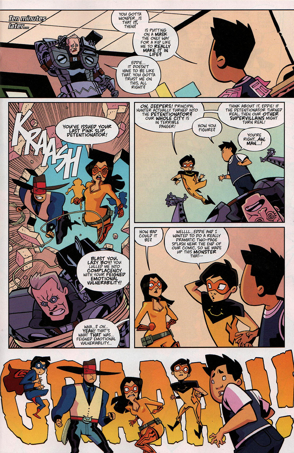 Read online Free Comic Book Day 2017 comic -  Issue # Fresh Off The Boat - 14