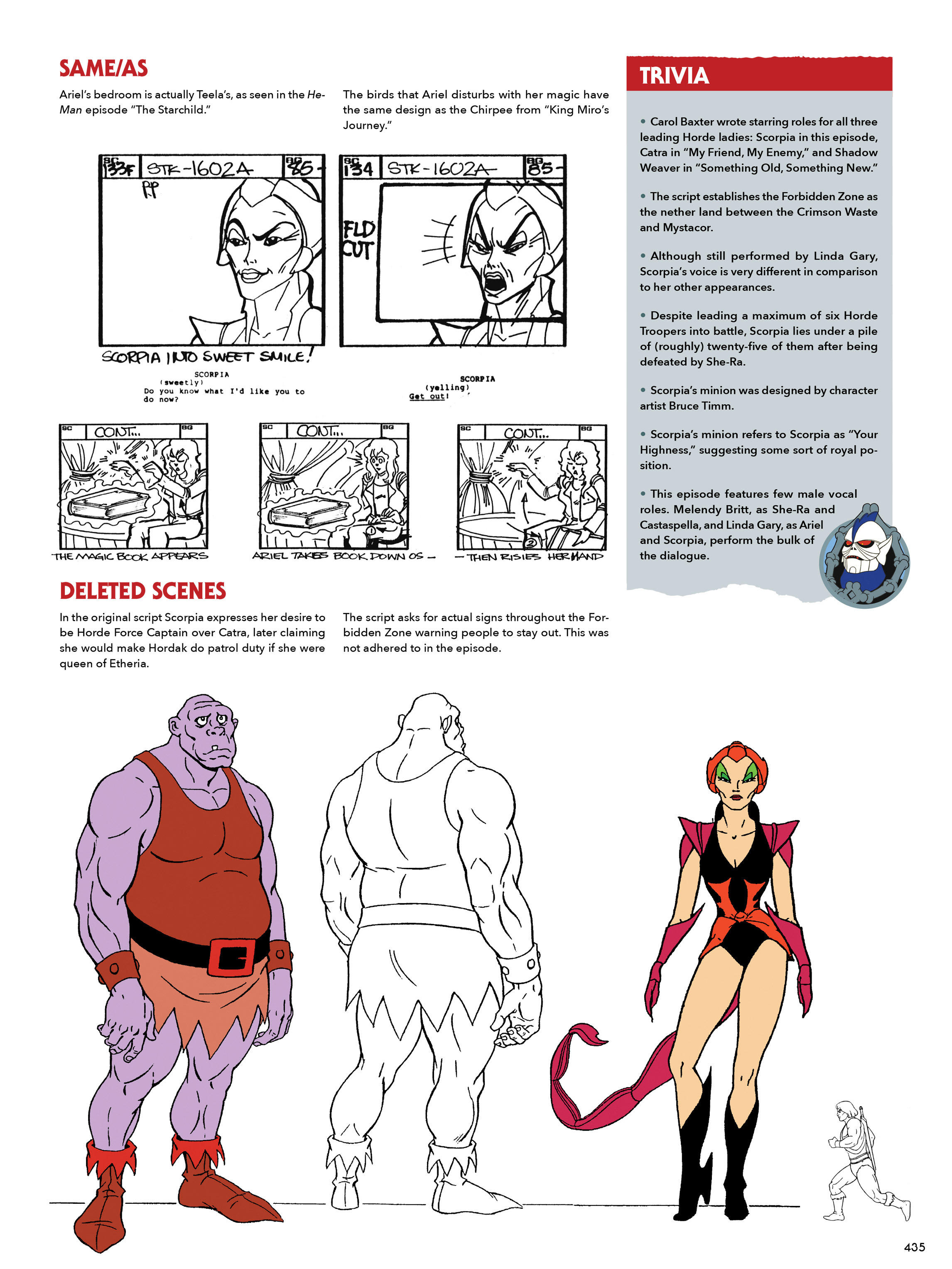 Read online He-Man and She-Ra: A Complete Guide to the Classic Animated Adventures comic -  Issue # TPB (Part 3) - 36