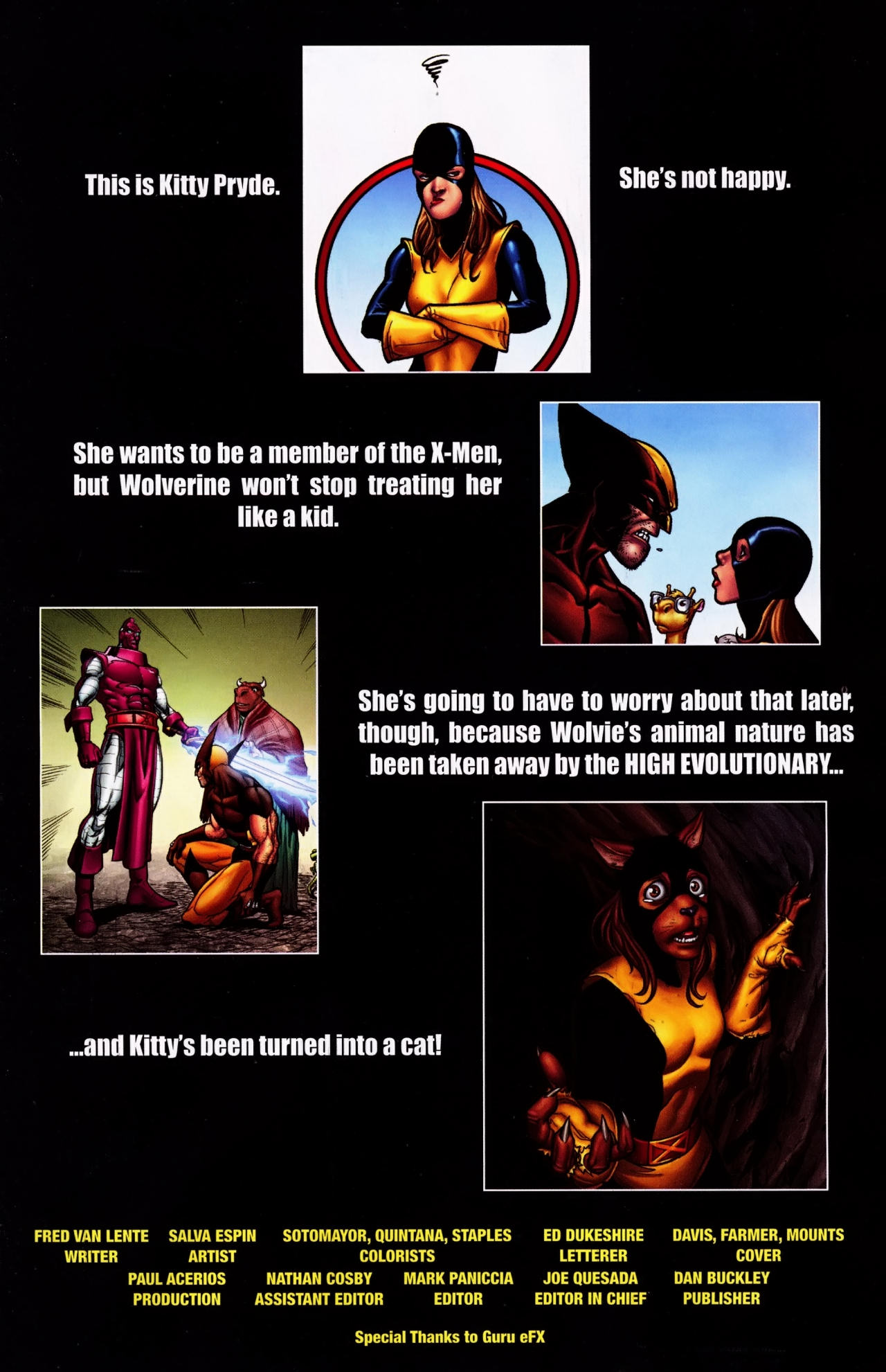 Read online Wolverine: First Class comic -  Issue #4 - 2
