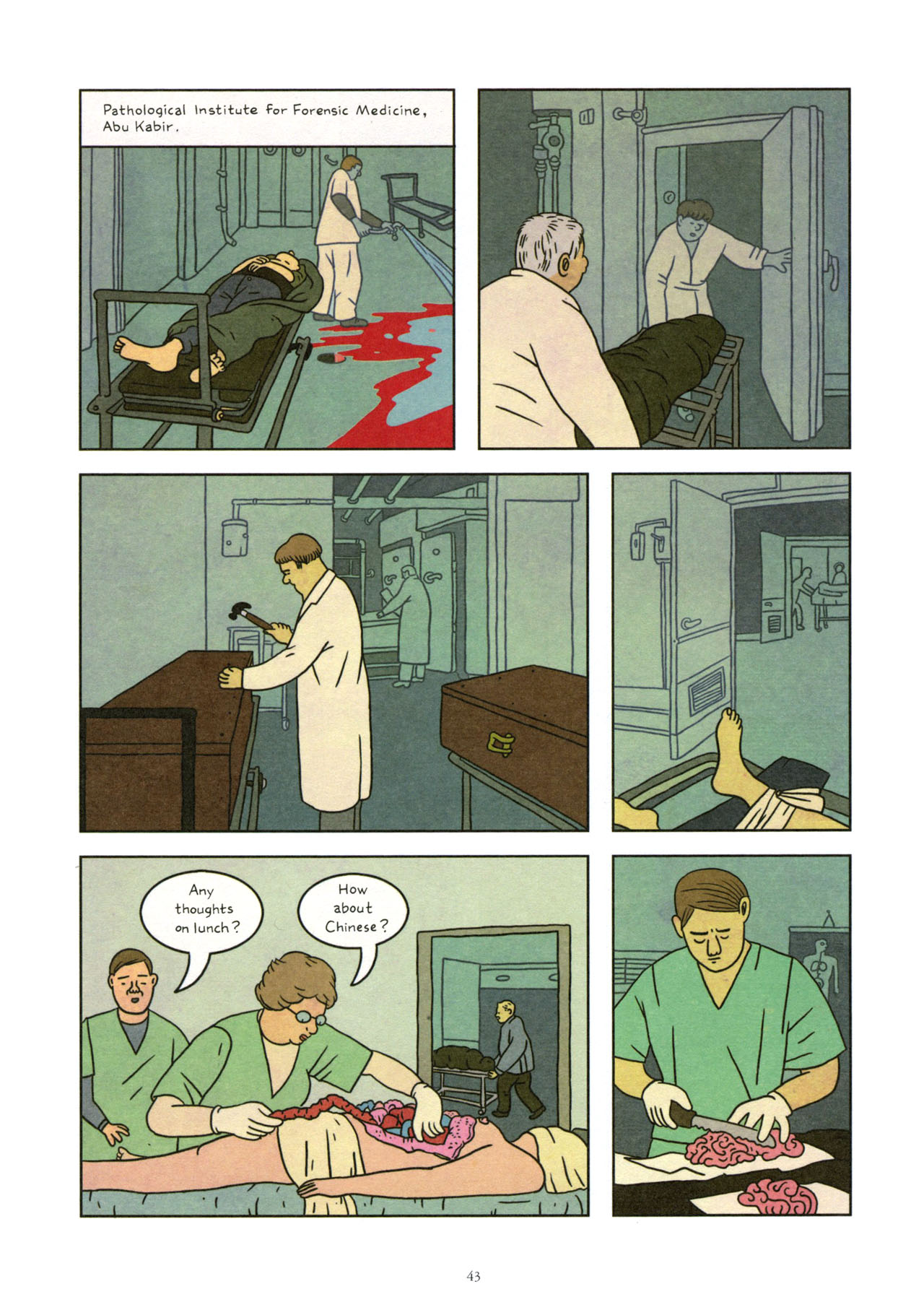 Read online Exit Wounds comic -  Issue # TPB - 44