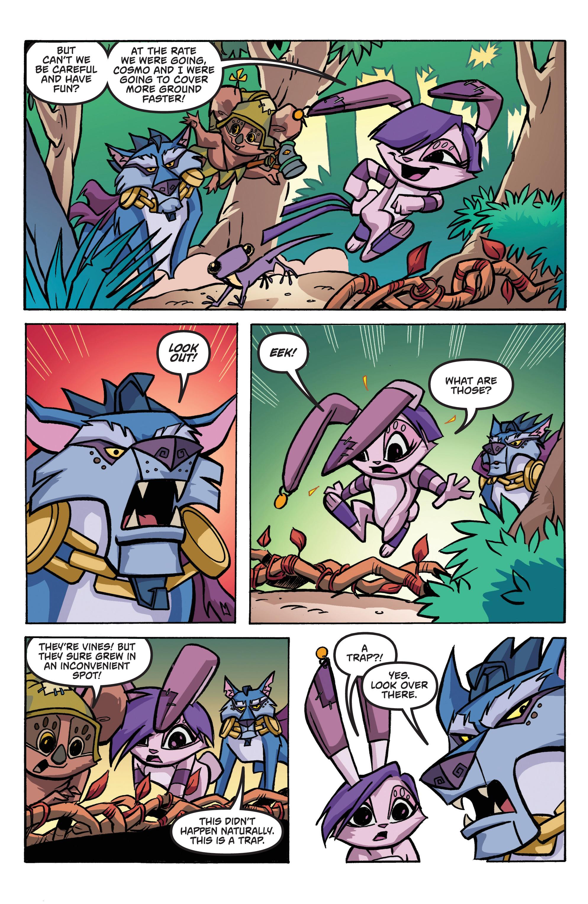 Read online Animal Jam comic -  Issue #1 - 6