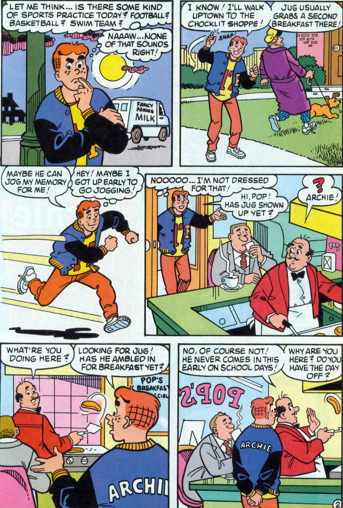 Read online Archie (1960) comic -  Issue #471 - 21