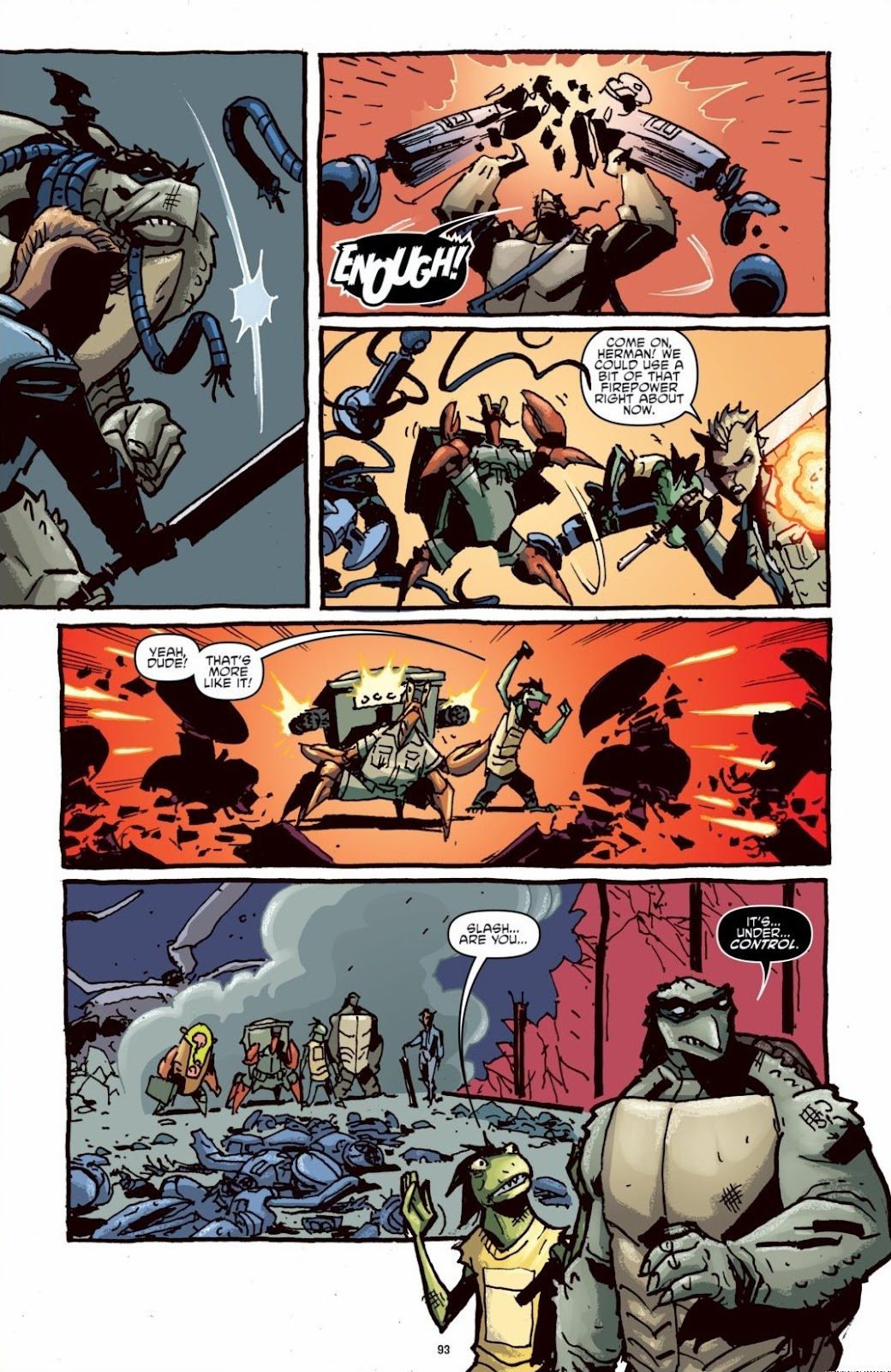 Read online Teenage Mutant Ninja Turtles: The IDW Collection comic -  Issue # TPB 6 (Part 1) - 92