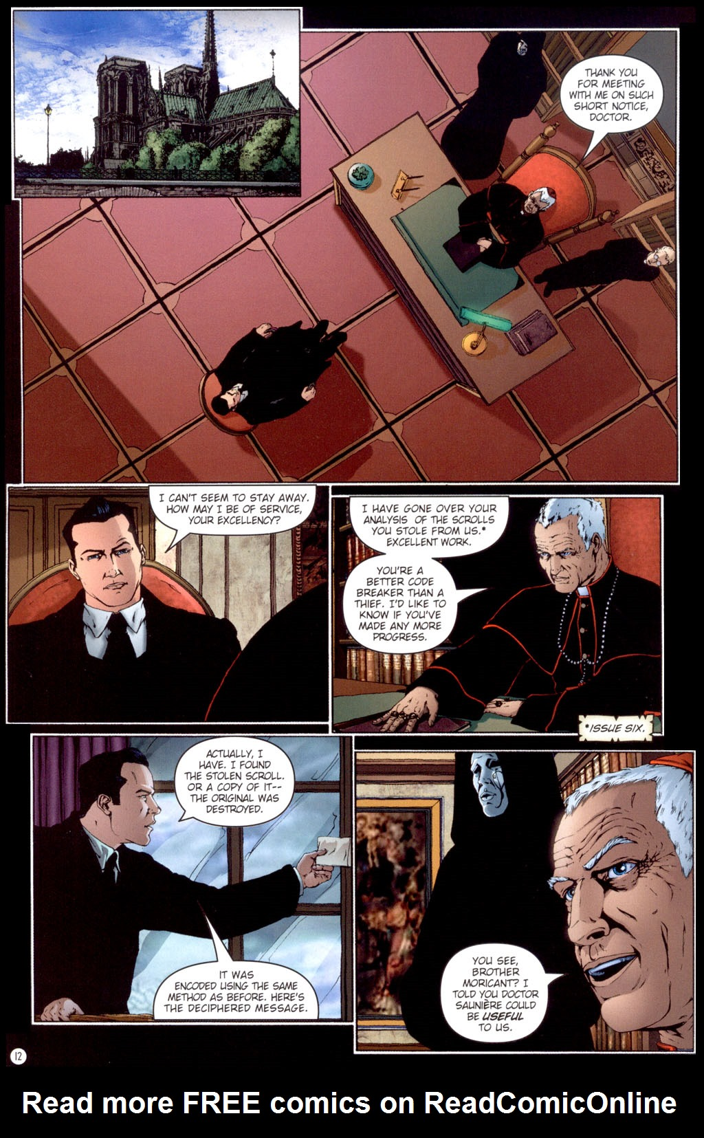 Read online Rex Mundi comic -  Issue #13 - 14