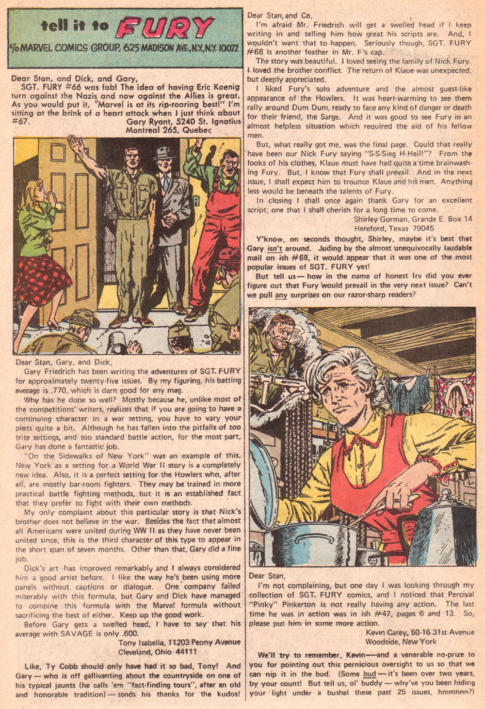 Read online Sgt. Fury comic -  Issue #72 - 22