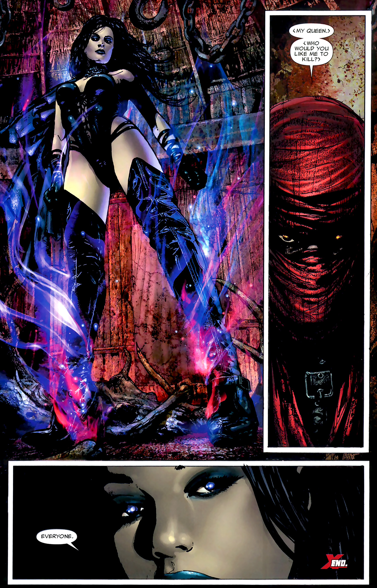 Read online X Necrosha: The Gathering comic -  Issue # Full - 25