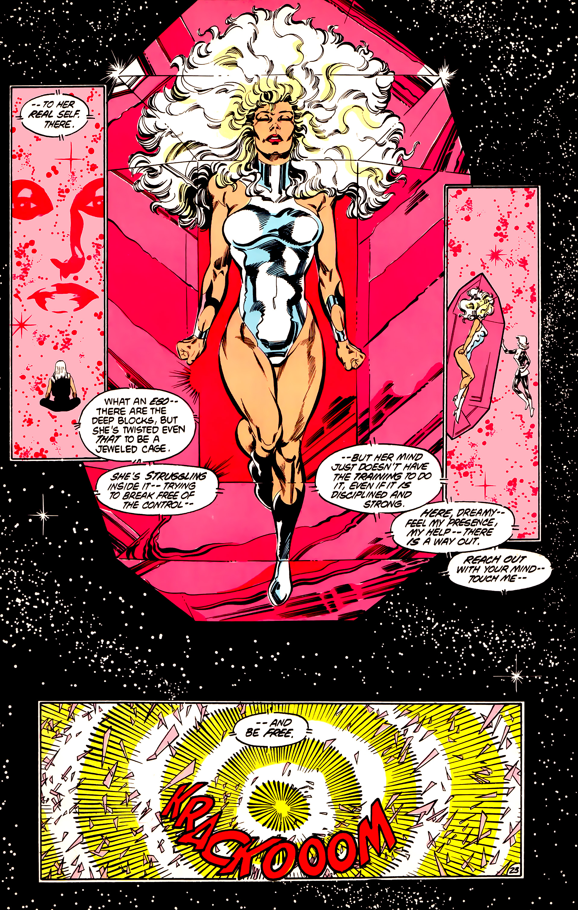 Legion of Super-Heroes (1984) 32 Page 22