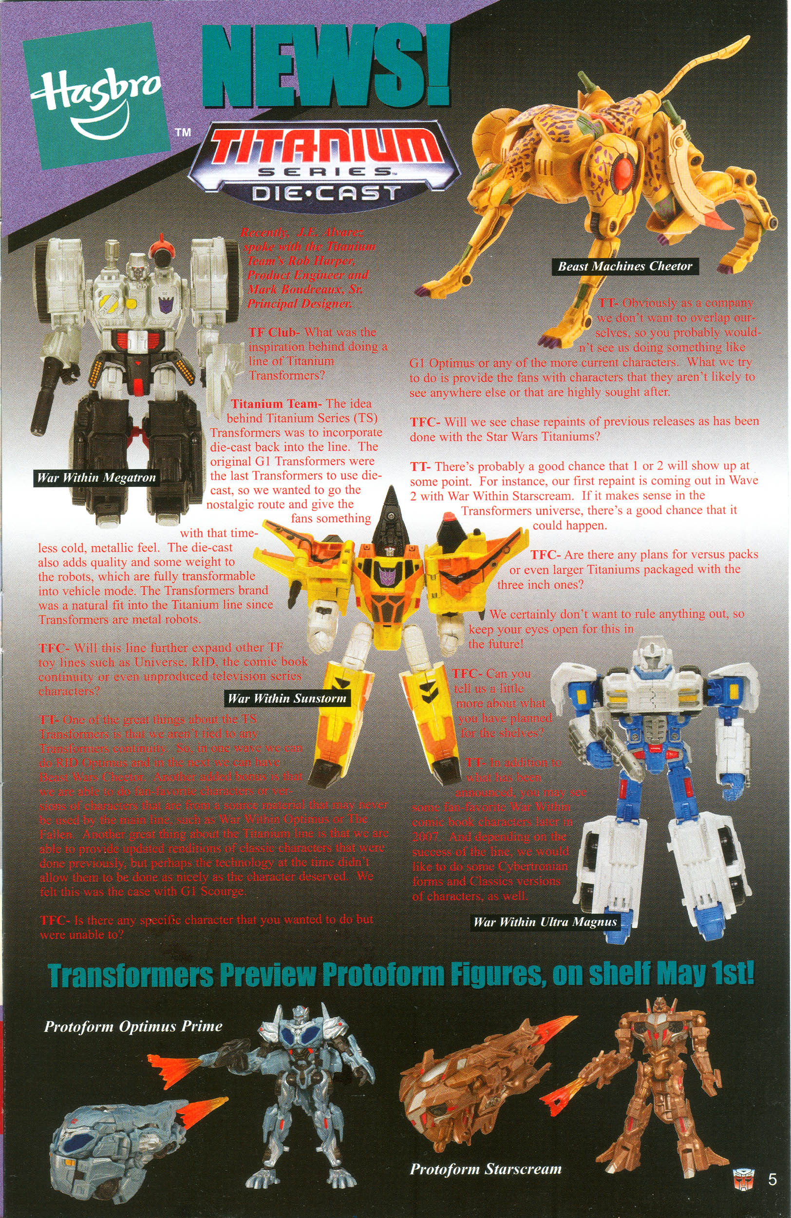 Read online Transformers: Collectors' Club comic -  Issue #13 - 5