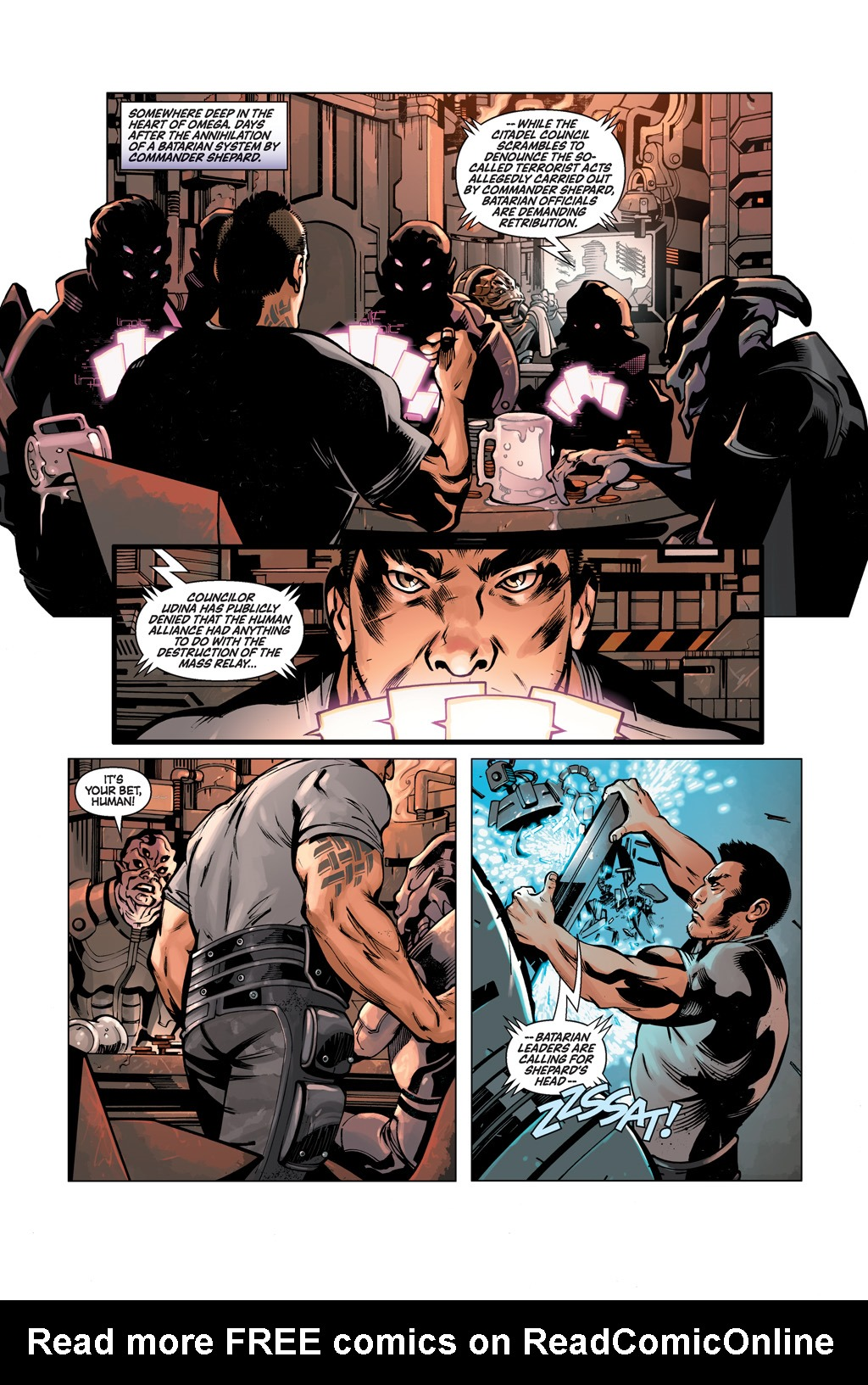 Read online Mass Effect: Conviction comic -  Issue # Full - 3