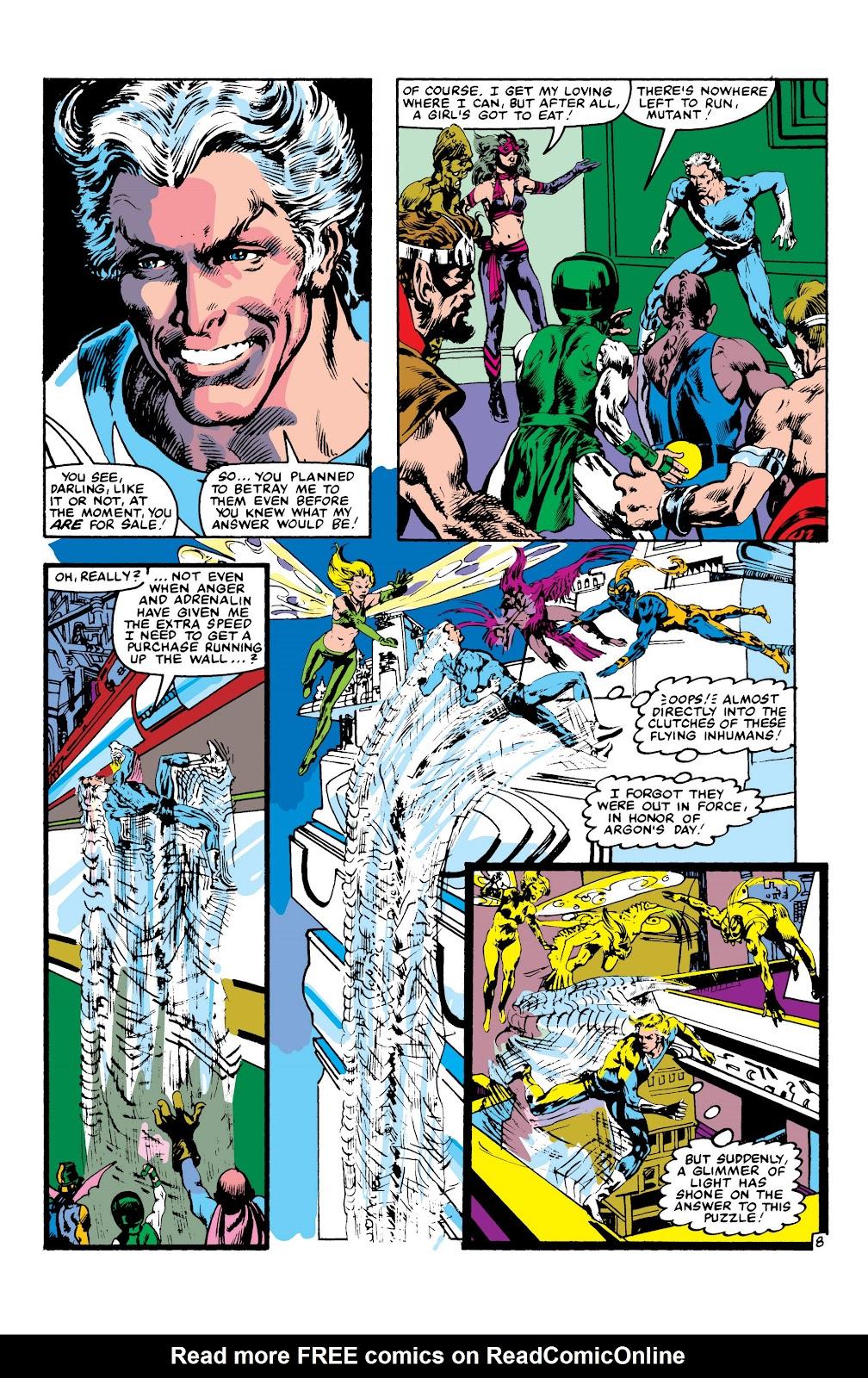 Read online Marvel Masterworks: The Inhumans comic -  Issue # TPB 2 (Part 3) - 111