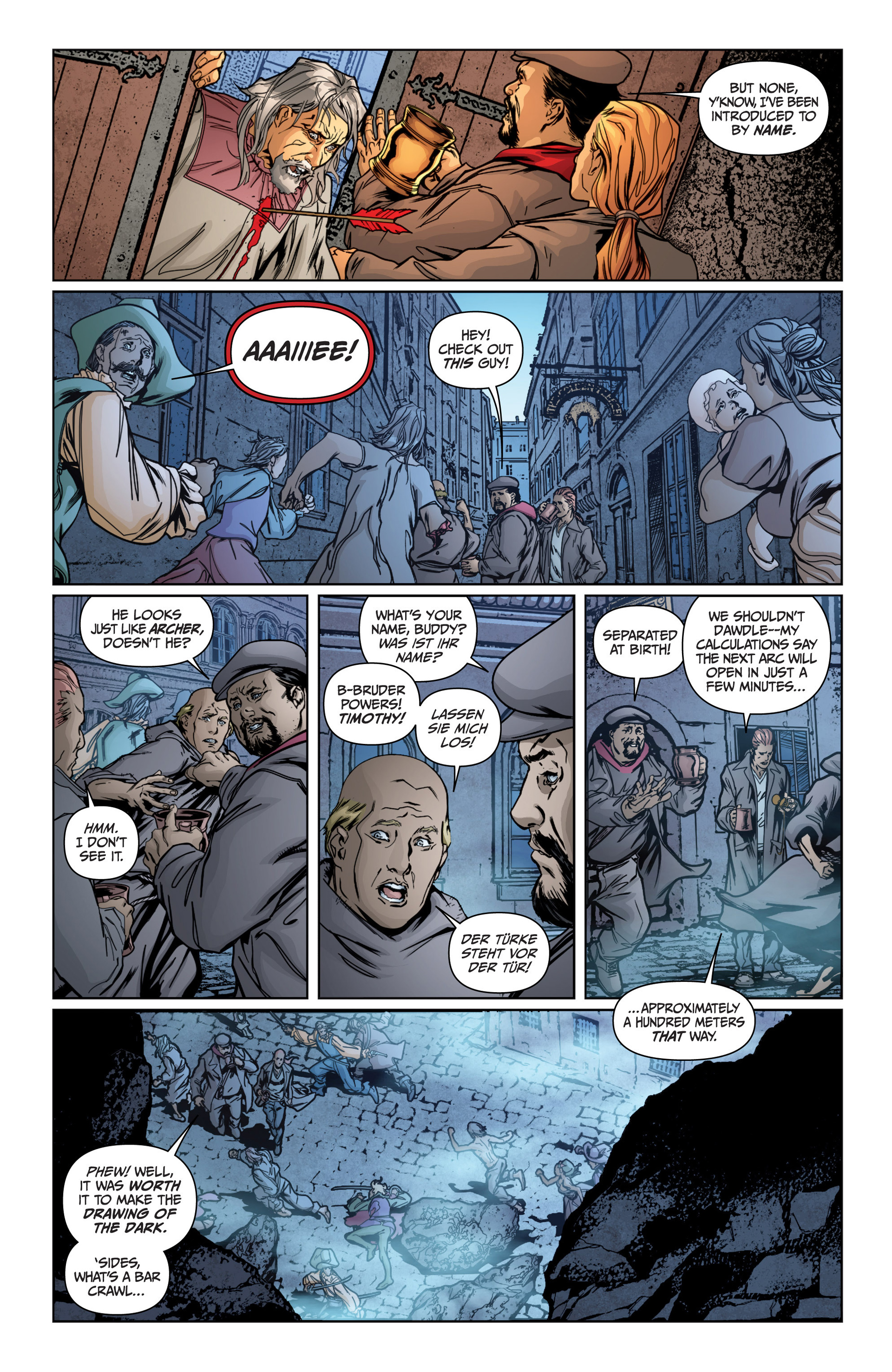 Read online Archer and Armstrong comic -  Issue #15 - 11