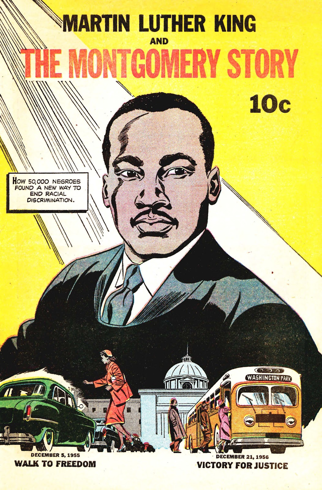 Read online Martin Luther King and the Montgomery Story comic -  Issue # Full - 1
