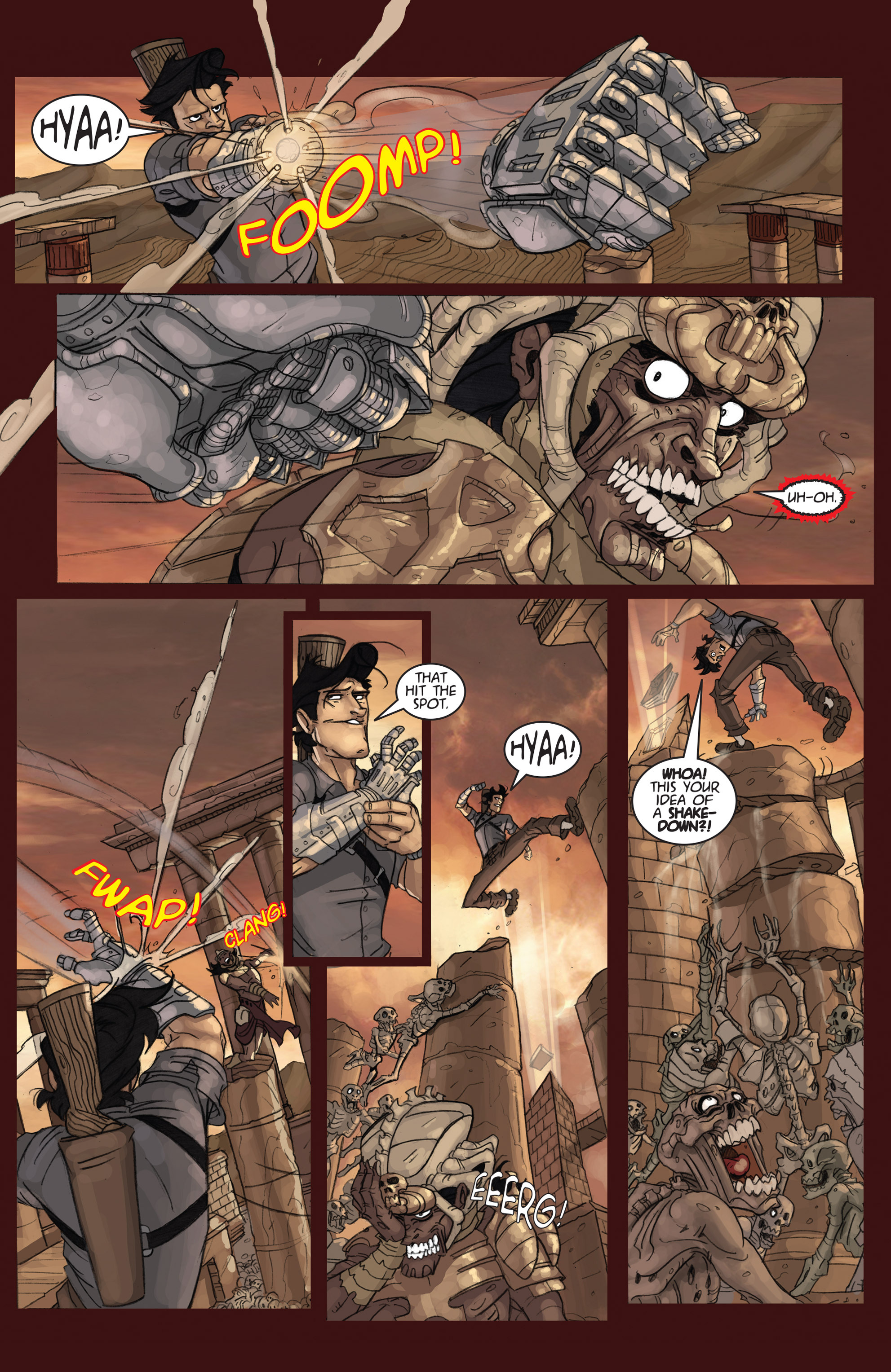 Read online Army of Darkness: Ashes 2 Ashes comic -  Issue #4 - 14