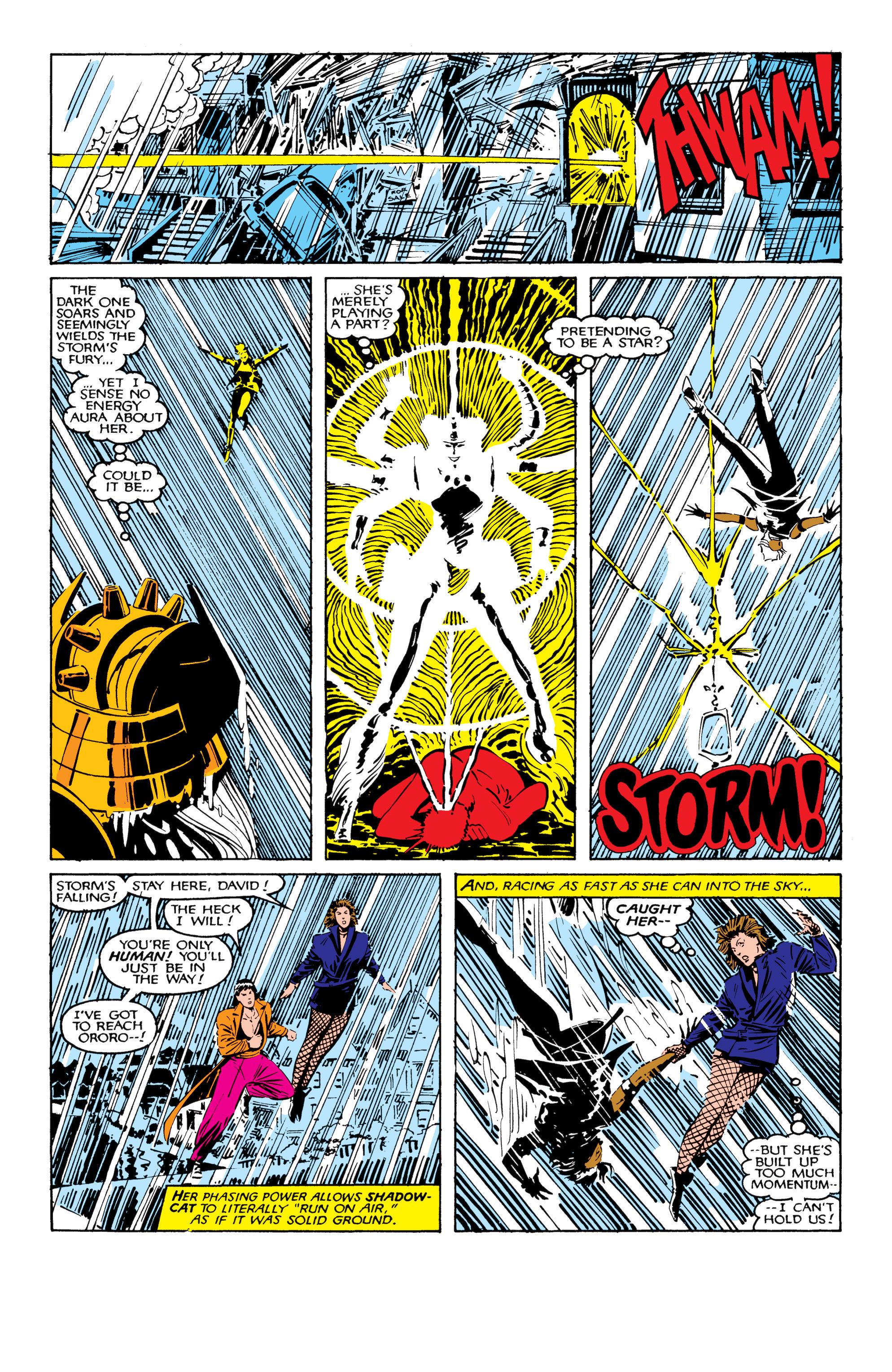 Read online Uncanny X-Men (1963) comic -  Issue #206 - 15