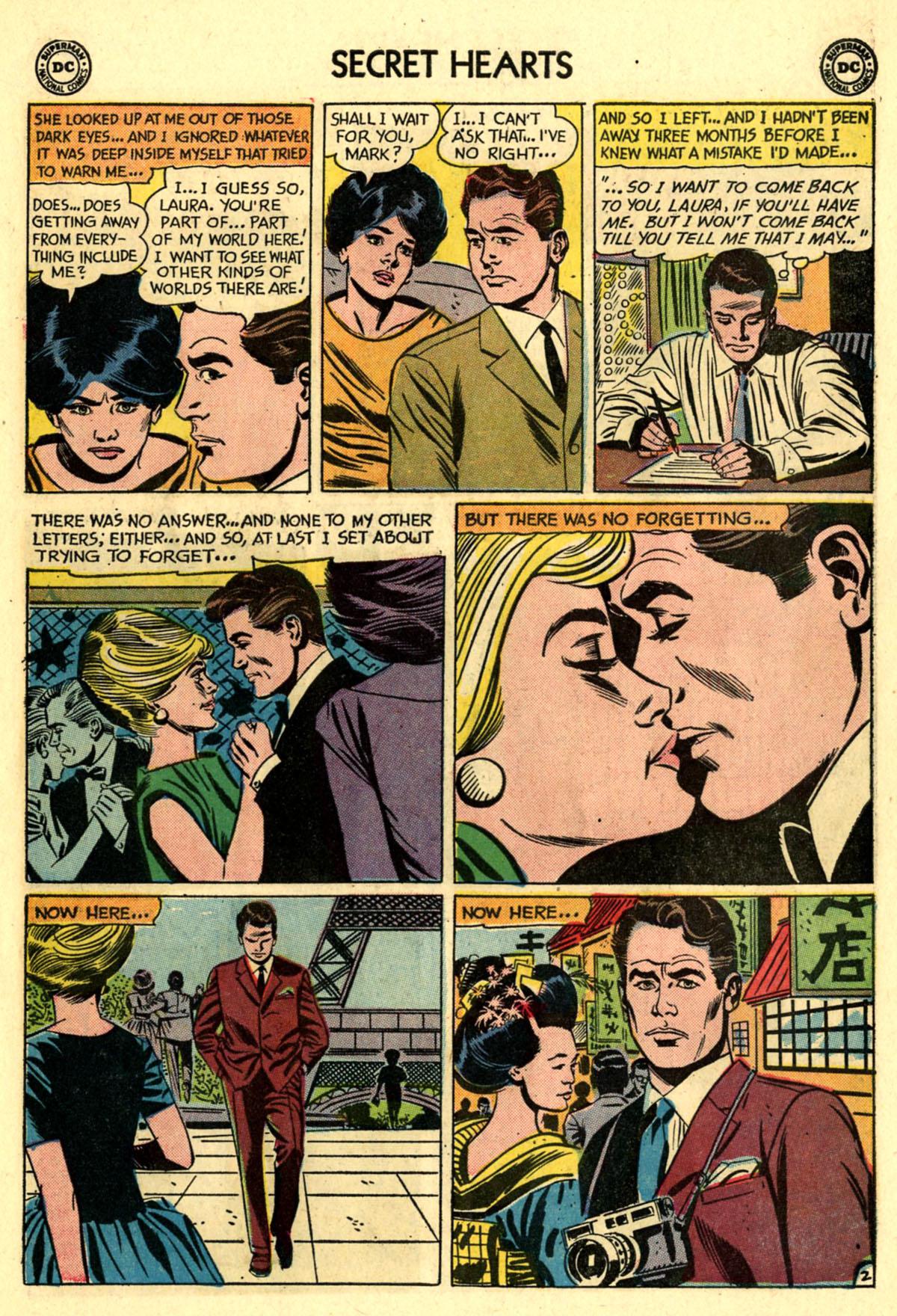Read online Secret Hearts comic -  Issue #83 - 11