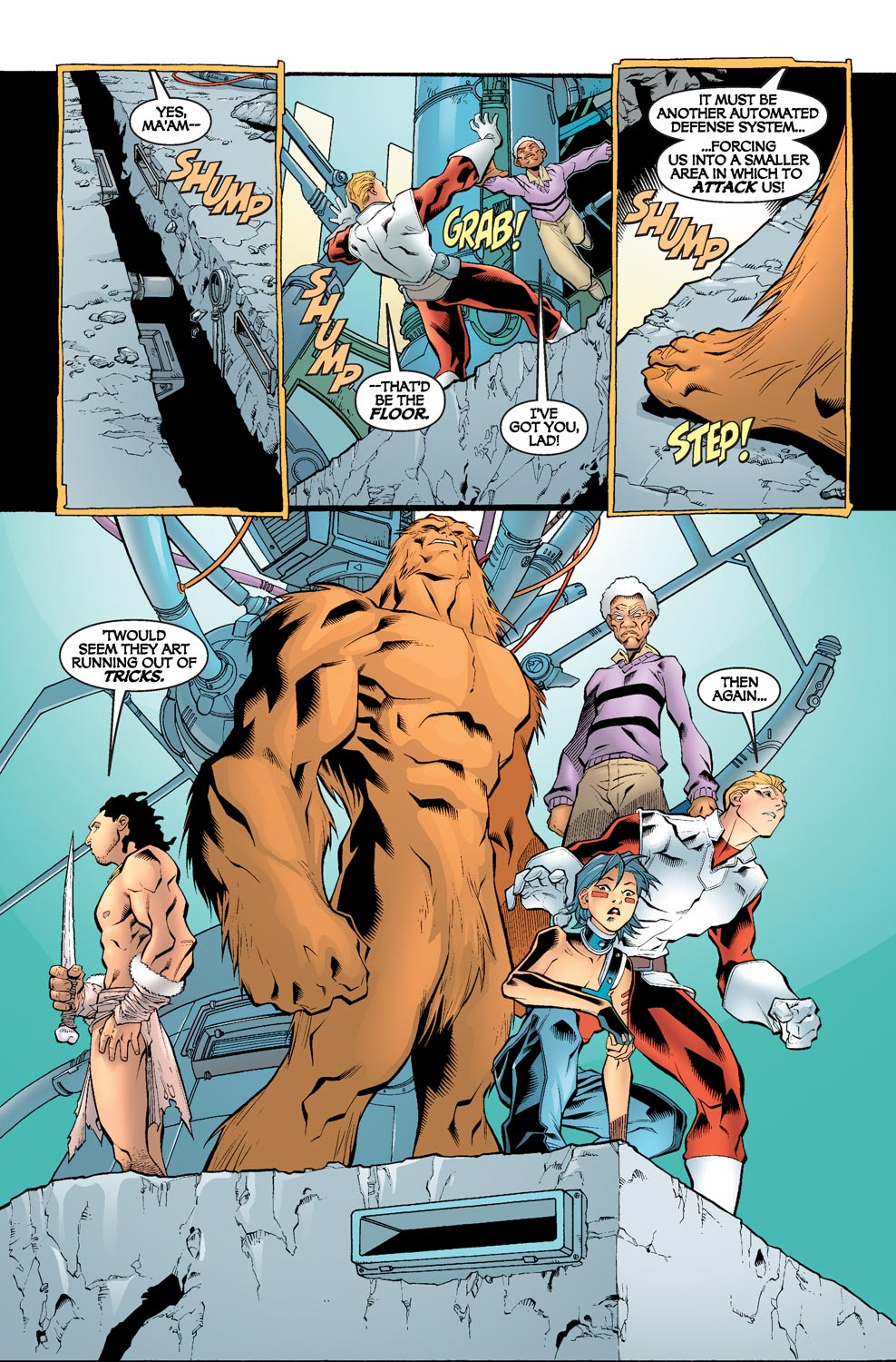 Alpha Flight (2004) issue 5 - Page 20