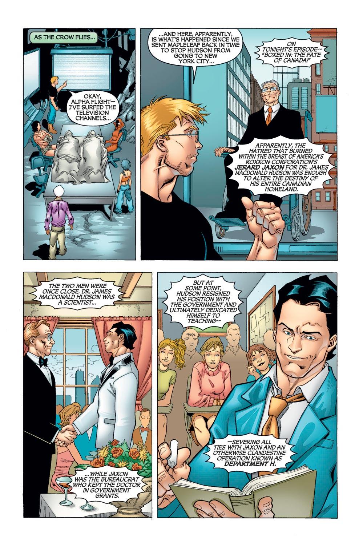 Alpha Flight (2004) issue 10 - Page 6