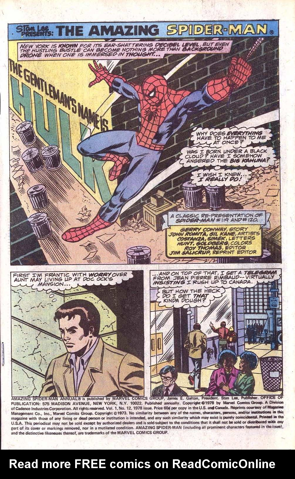 The Amazing Spider-Man (1963) _Annual_12 Page 2