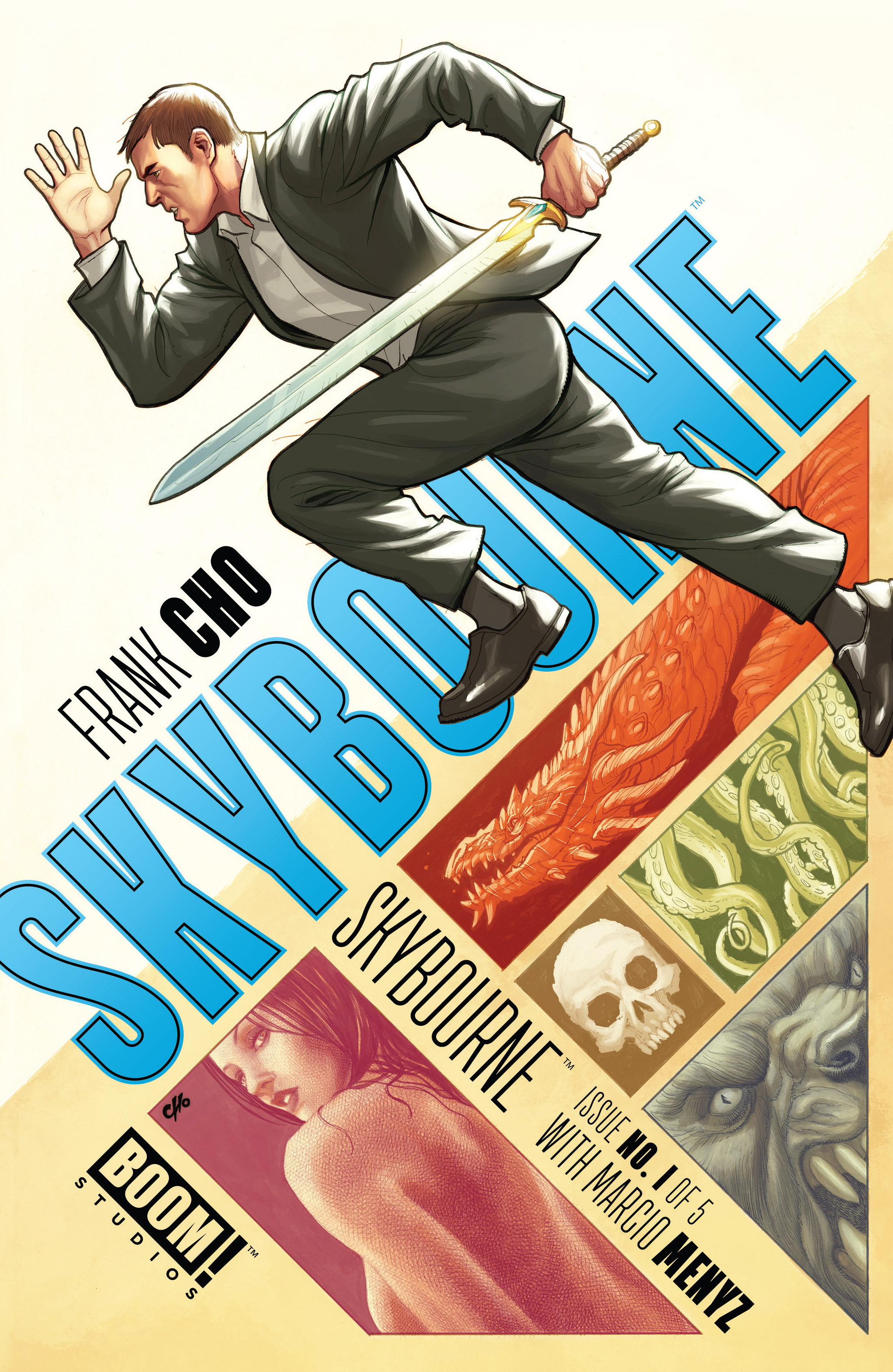 Read online Skybourne comic -  Issue #1 - 1