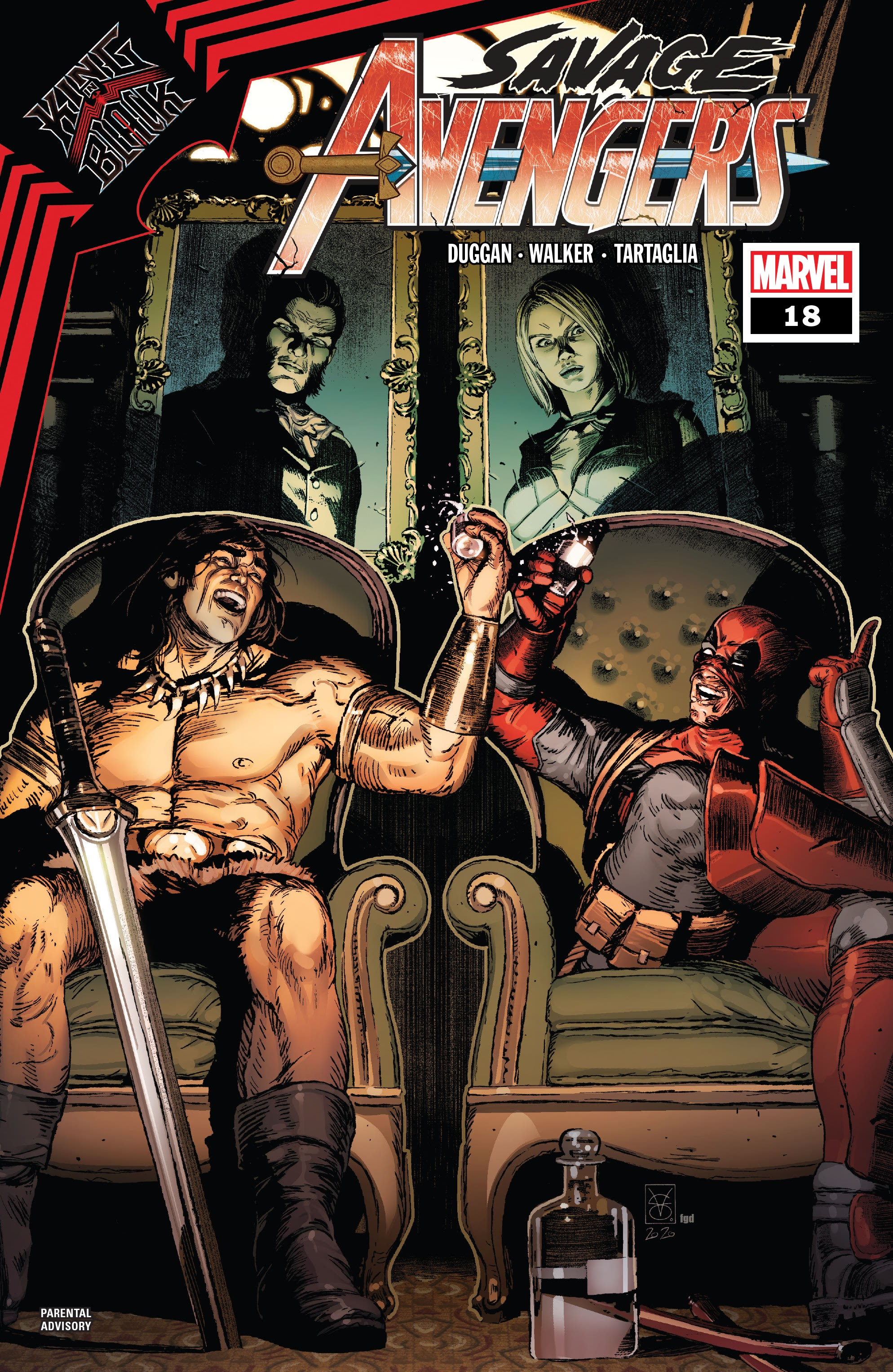 Savage Avengers 18 Page 1