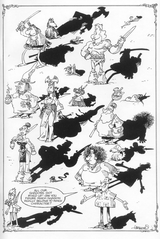 Read online Sergio Aragonés Groo the Wanderer comic -  Issue #113 - 33
