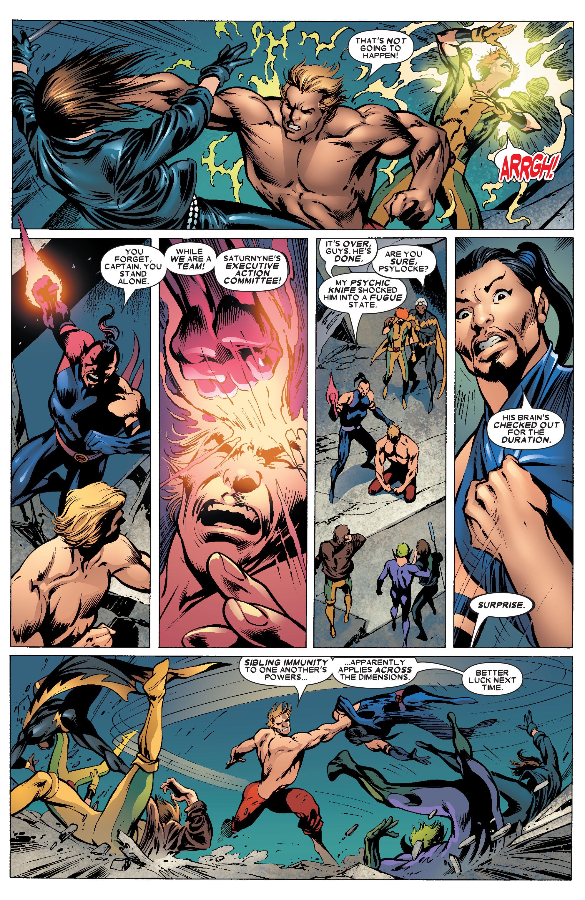 Read online Uncanny X-Men (1963) comic -  Issue #462 - 15