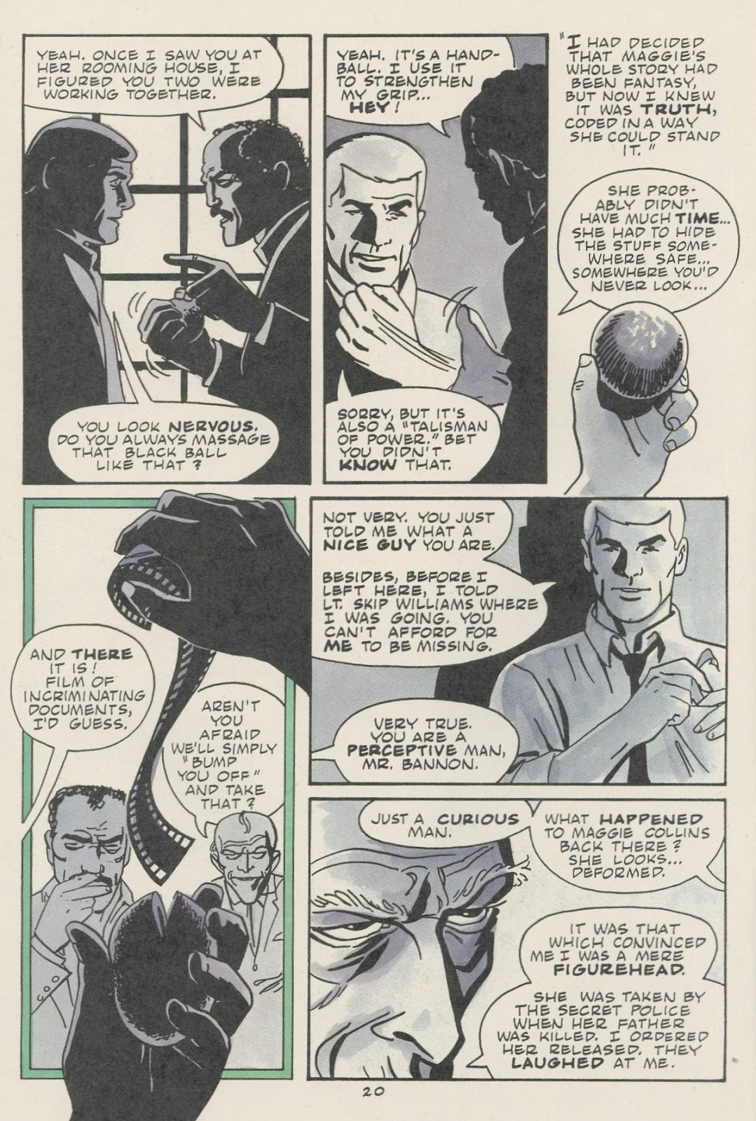 Jonny Quest (1986) issue 18 - Page 22