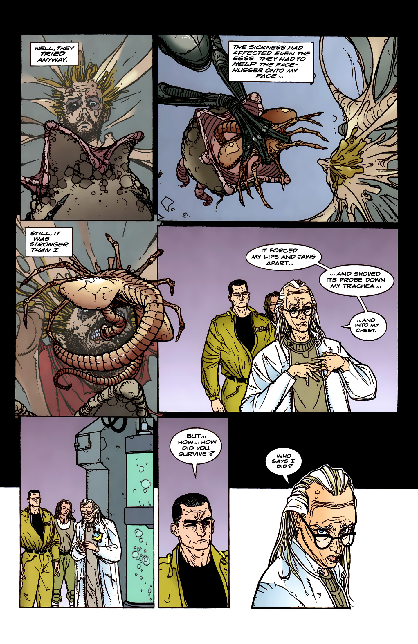 Read online Aliens: Labyrinth comic -  Issue #3 - 26