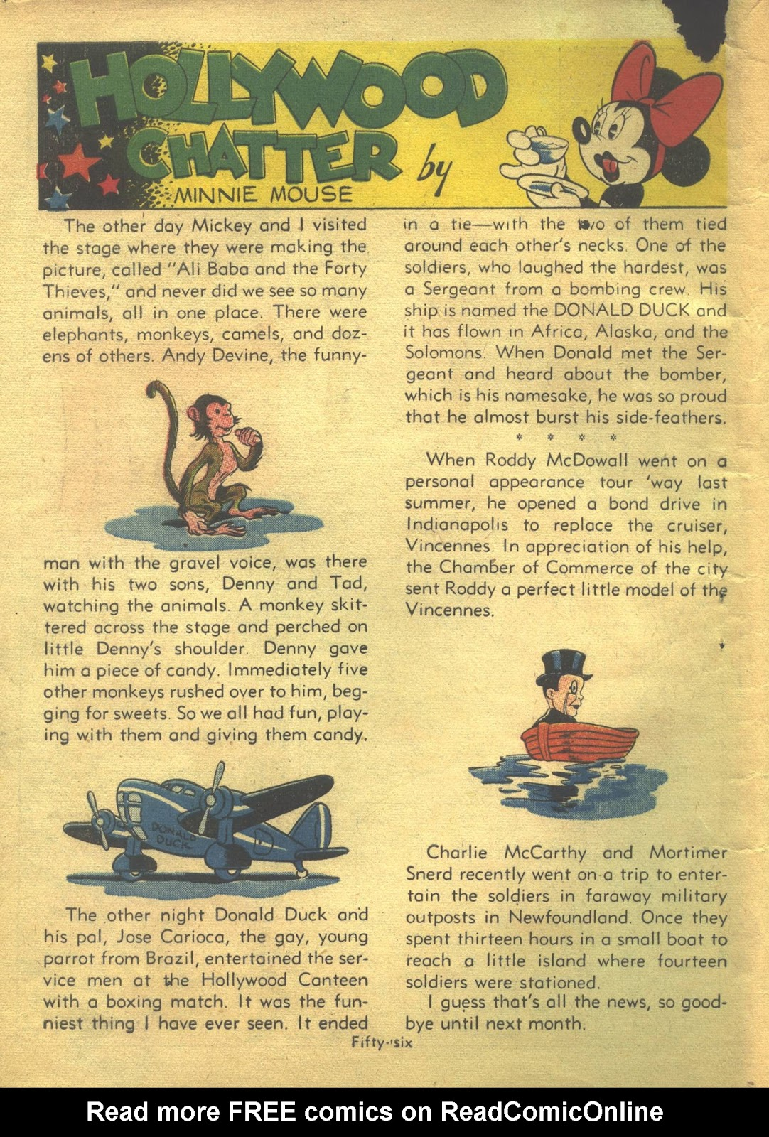 Walt Disney's Comics and Stories issue 39 - Page 58
