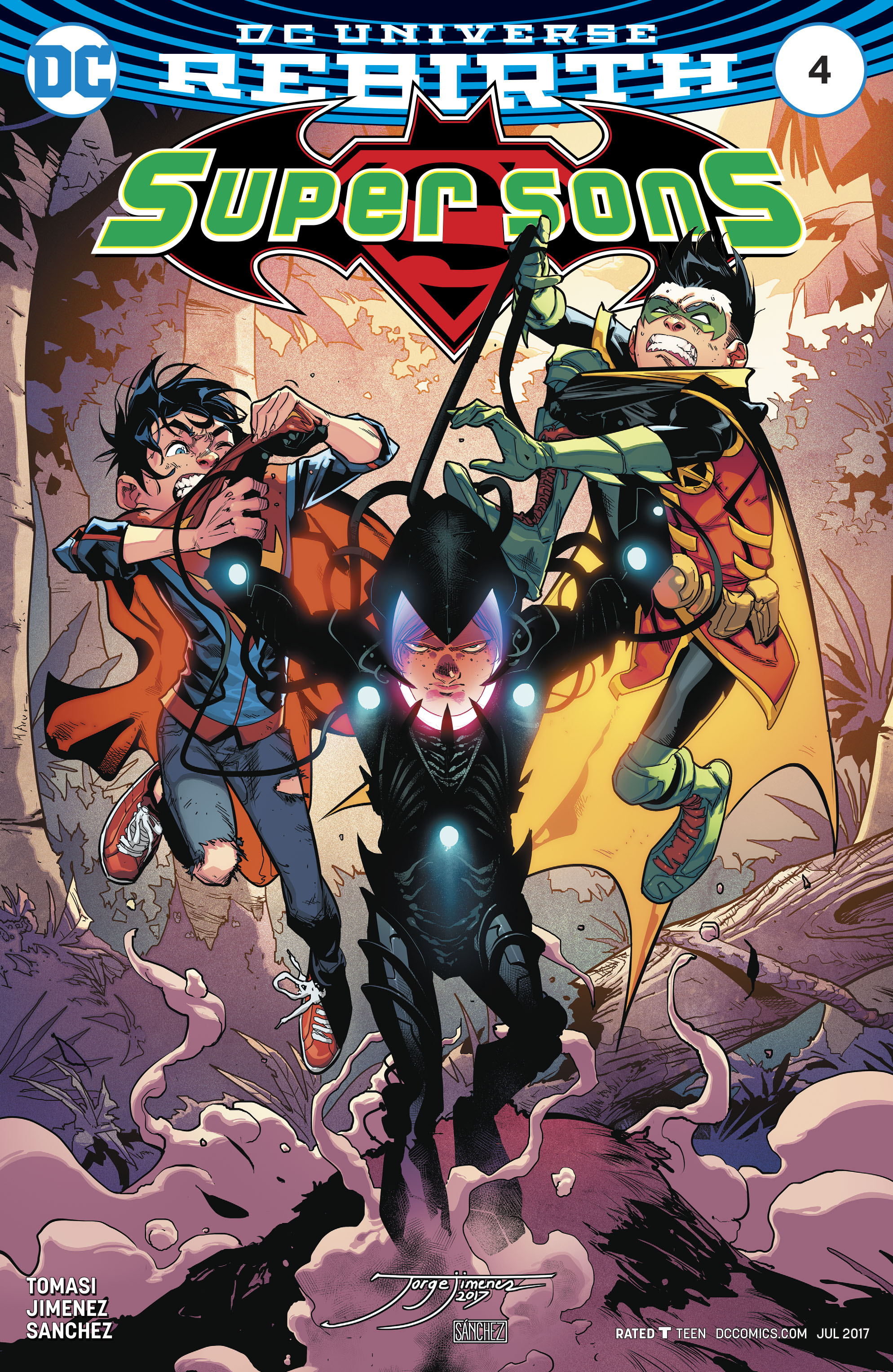 Read online Super Sons comic -  Issue #4 - 1