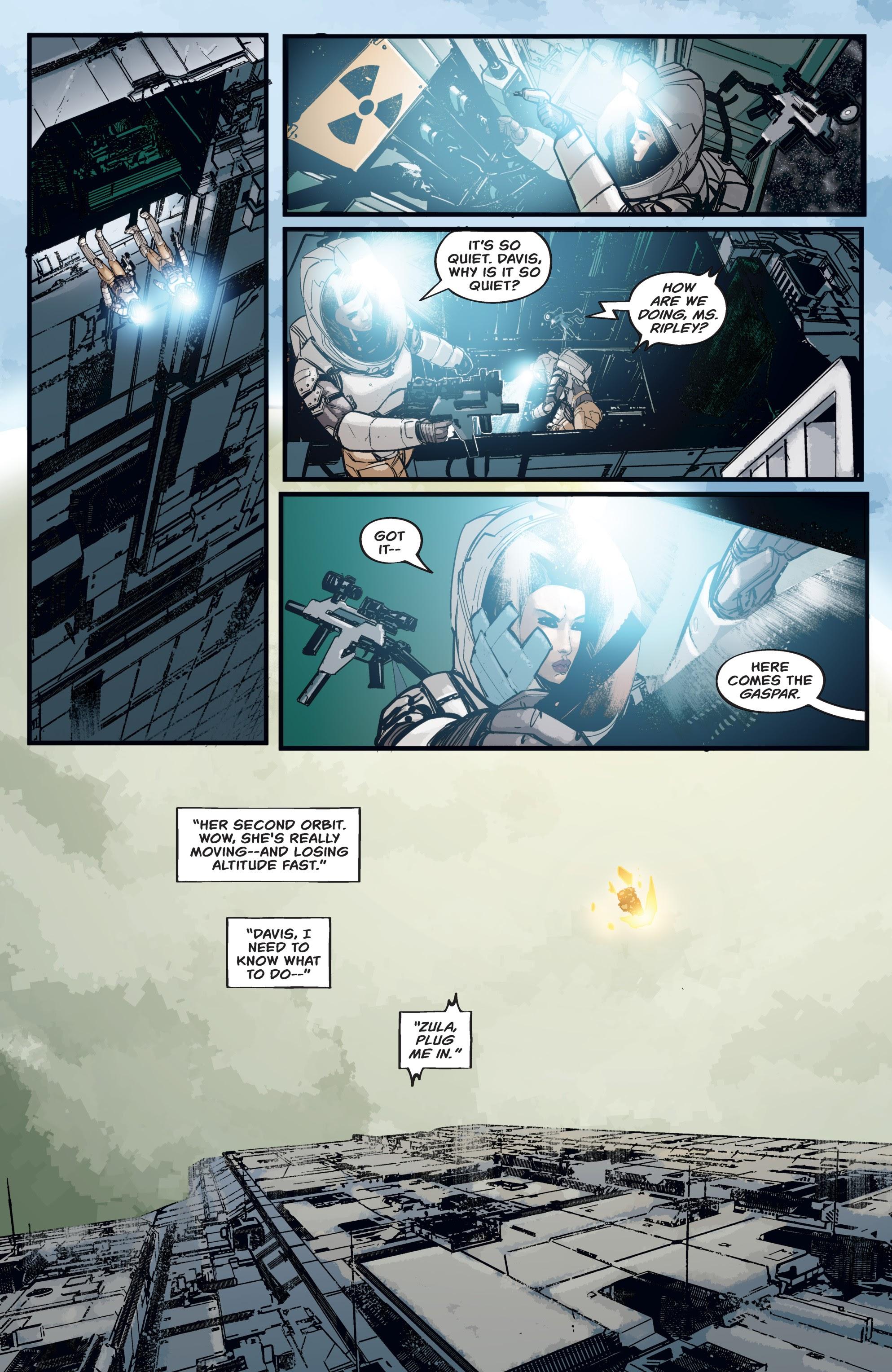 Read online Aliens: Resistance comic -  Issue # _TPB - 43