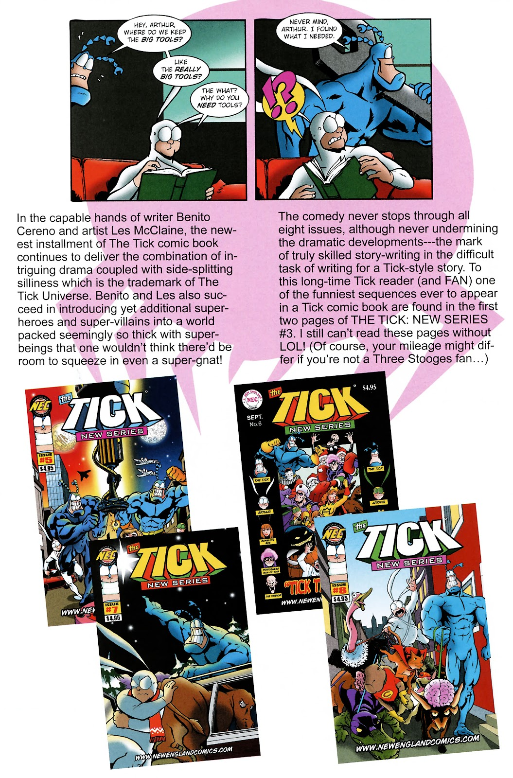 Read online The Tick comic -  Issue #101 - 42