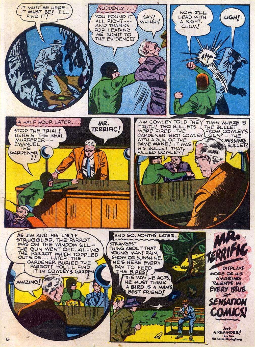 Read online Sensation (Mystery) Comics comic -  Issue #27 - 47