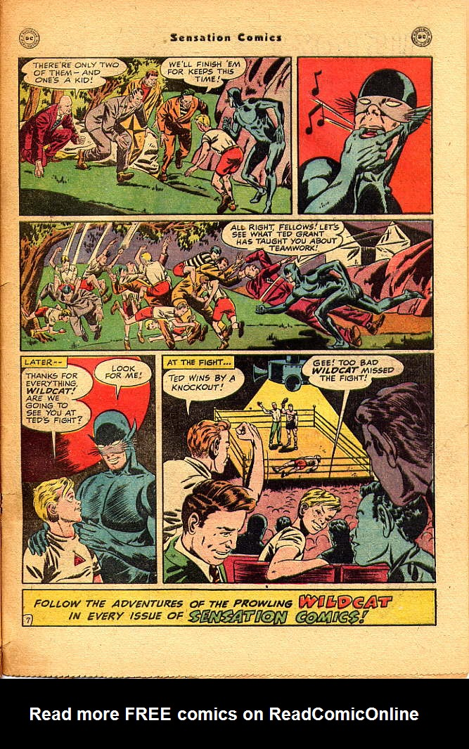 Read online Sensation (Mystery) Comics comic -  Issue #83 - 49
