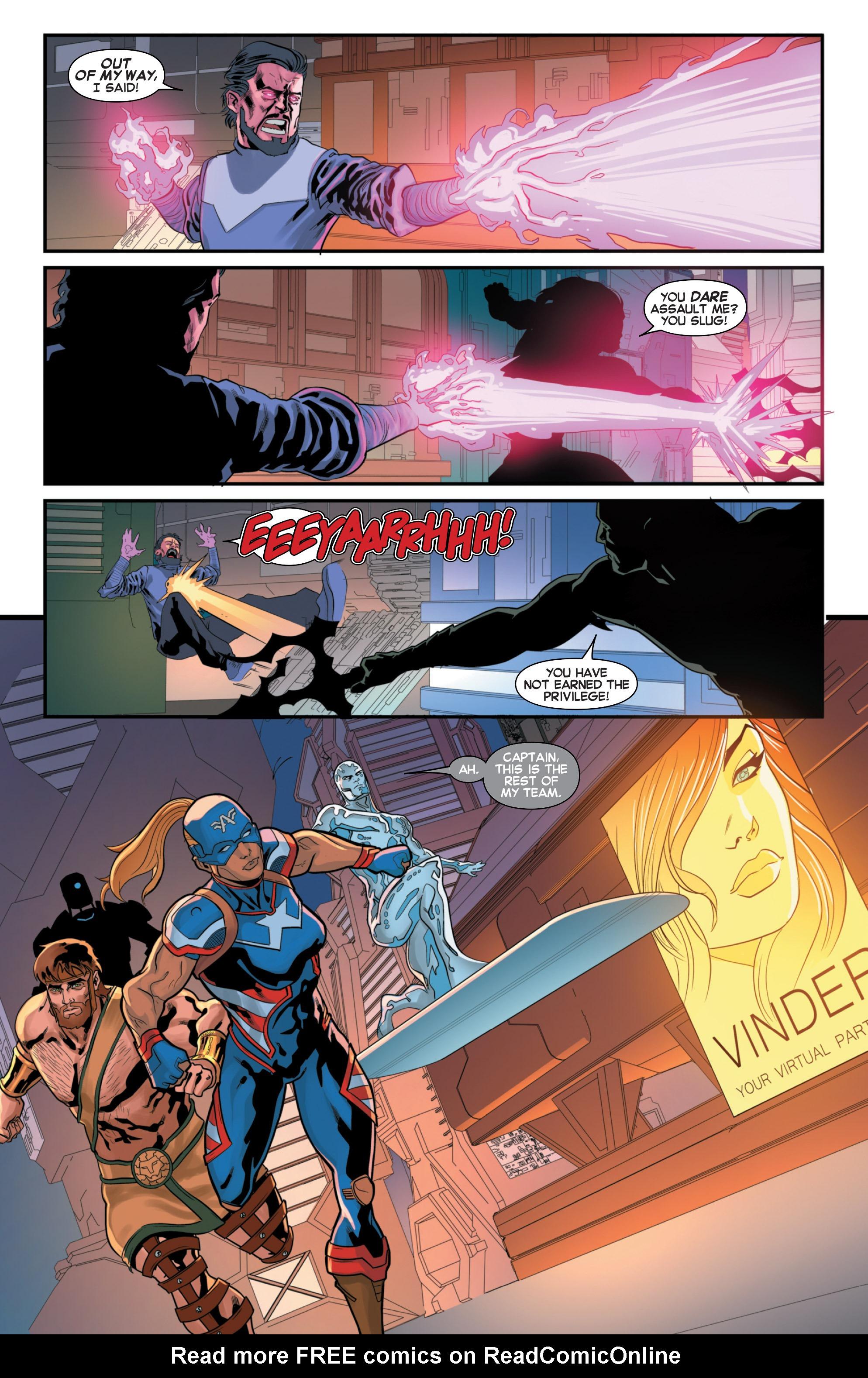 Read online Secret Wars 2099 comic -  Issue #3 - 5