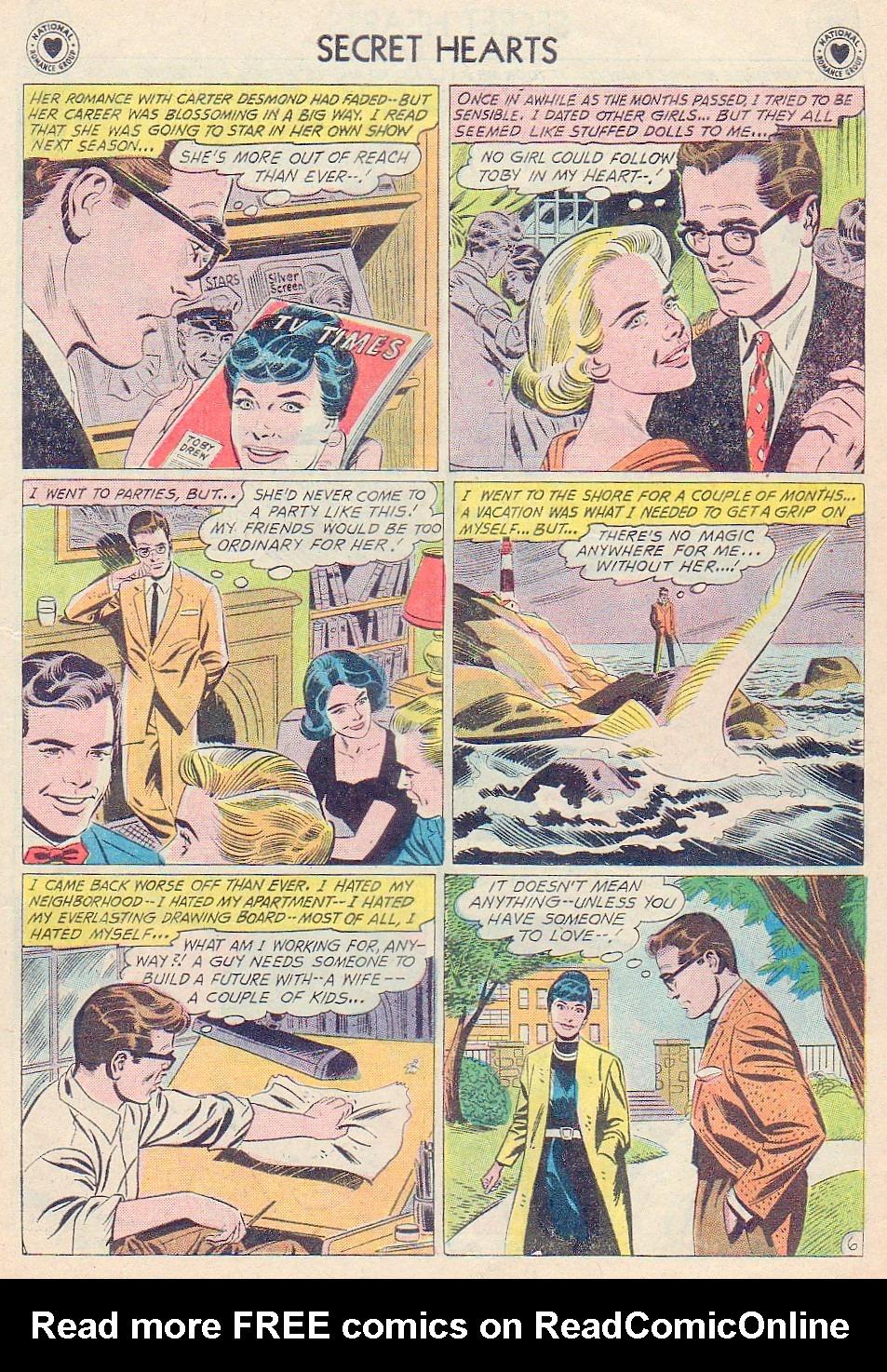 Read online Secret Hearts comic -  Issue #72 - 23