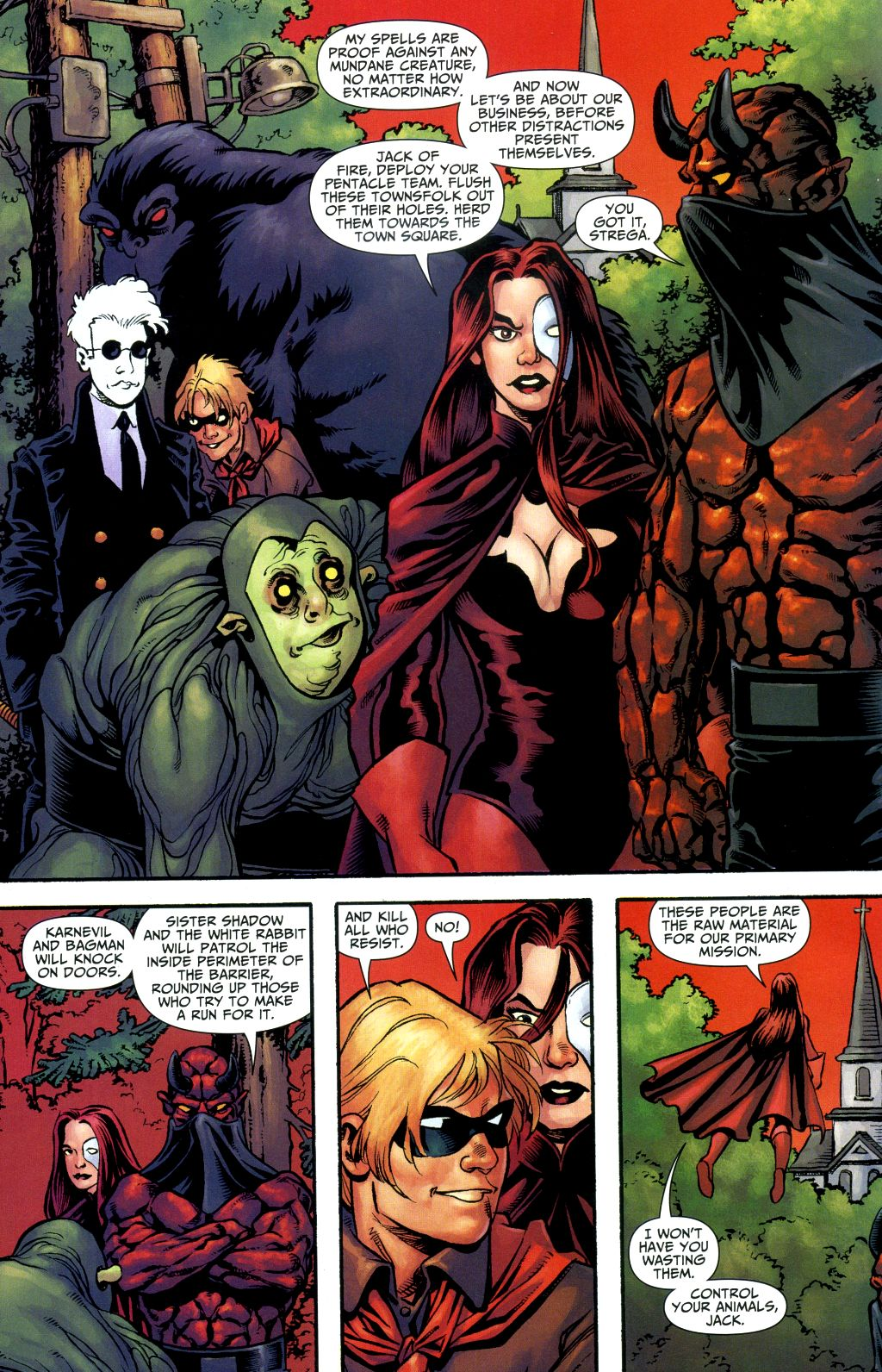 Read online Shadowpact comic -  Issue #1 - 5