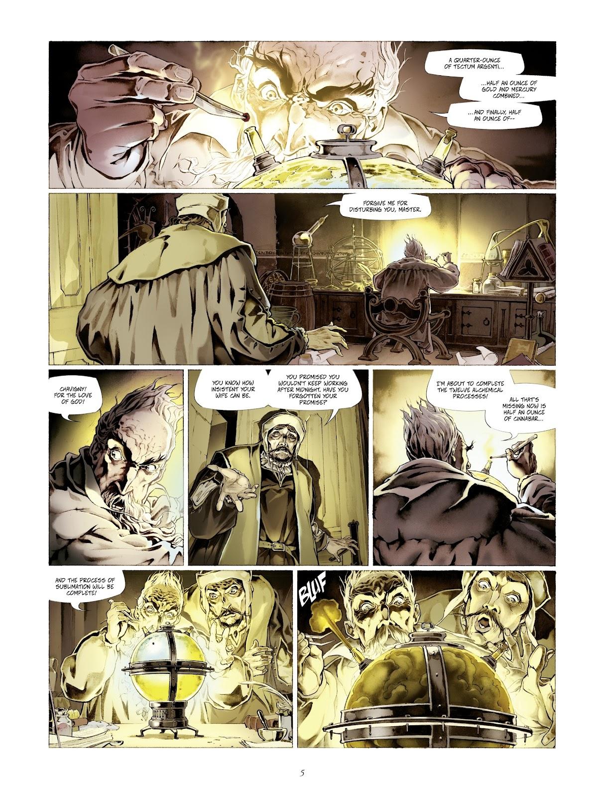 Read online Arthus Trivium comic -  Issue #4 - 7
