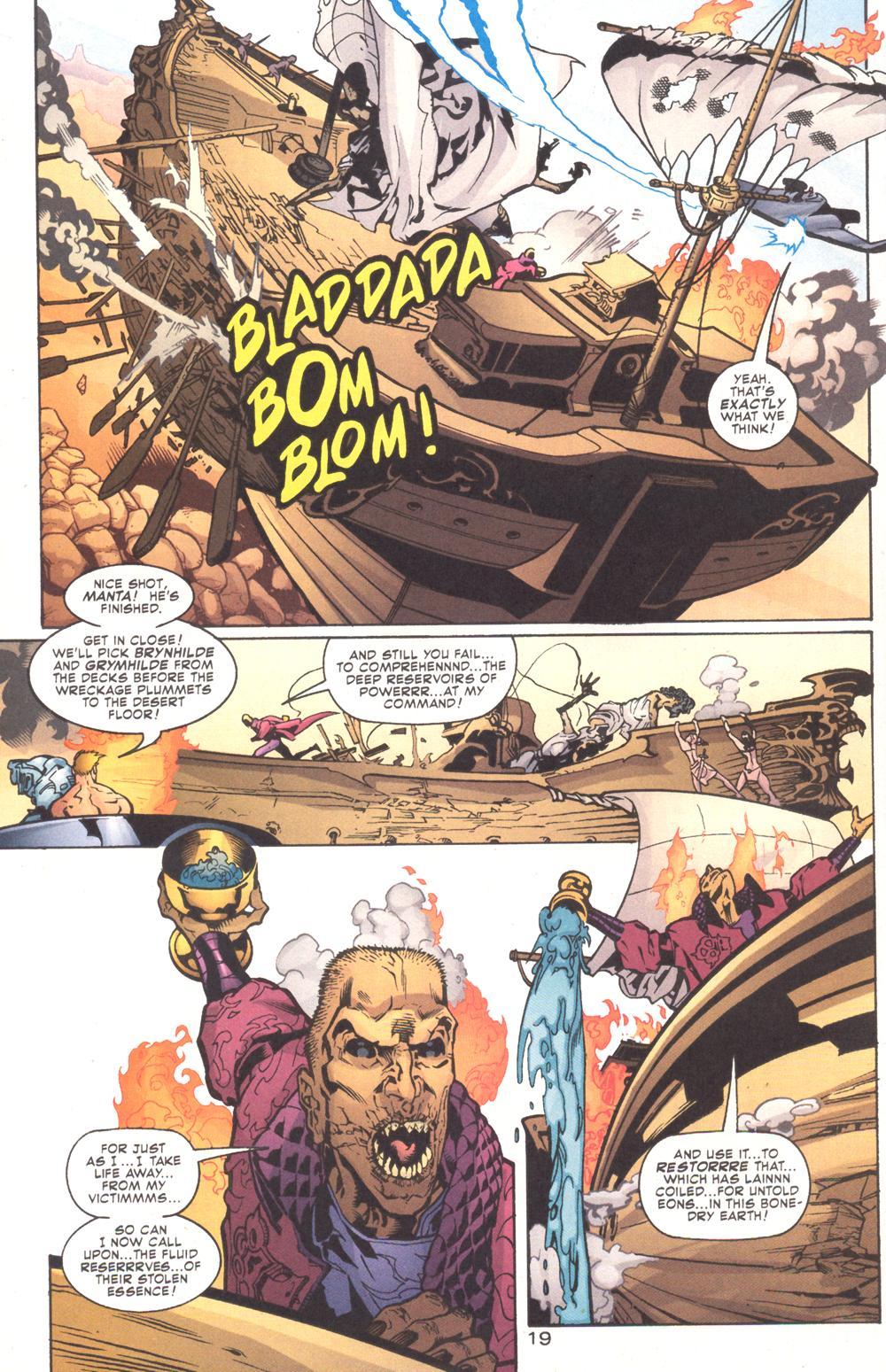 Read online Aquaman (2003) comic -  Issue #9 - 21