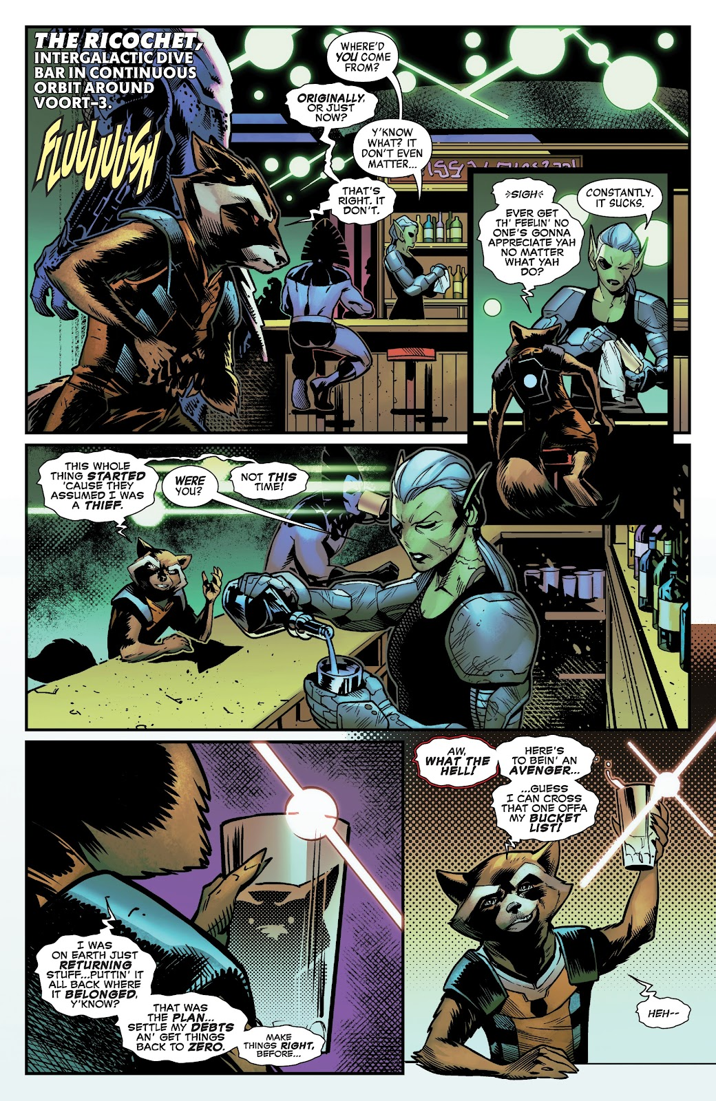 Read online Avengers No Road Home comic -  Issue #10 - 24