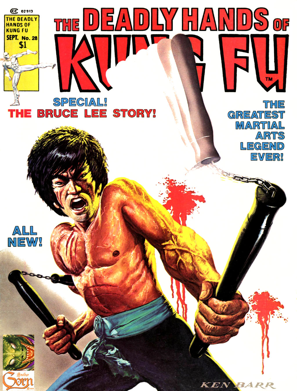 The Deadly Hands of Kung Fu issue 28 - Page 1
