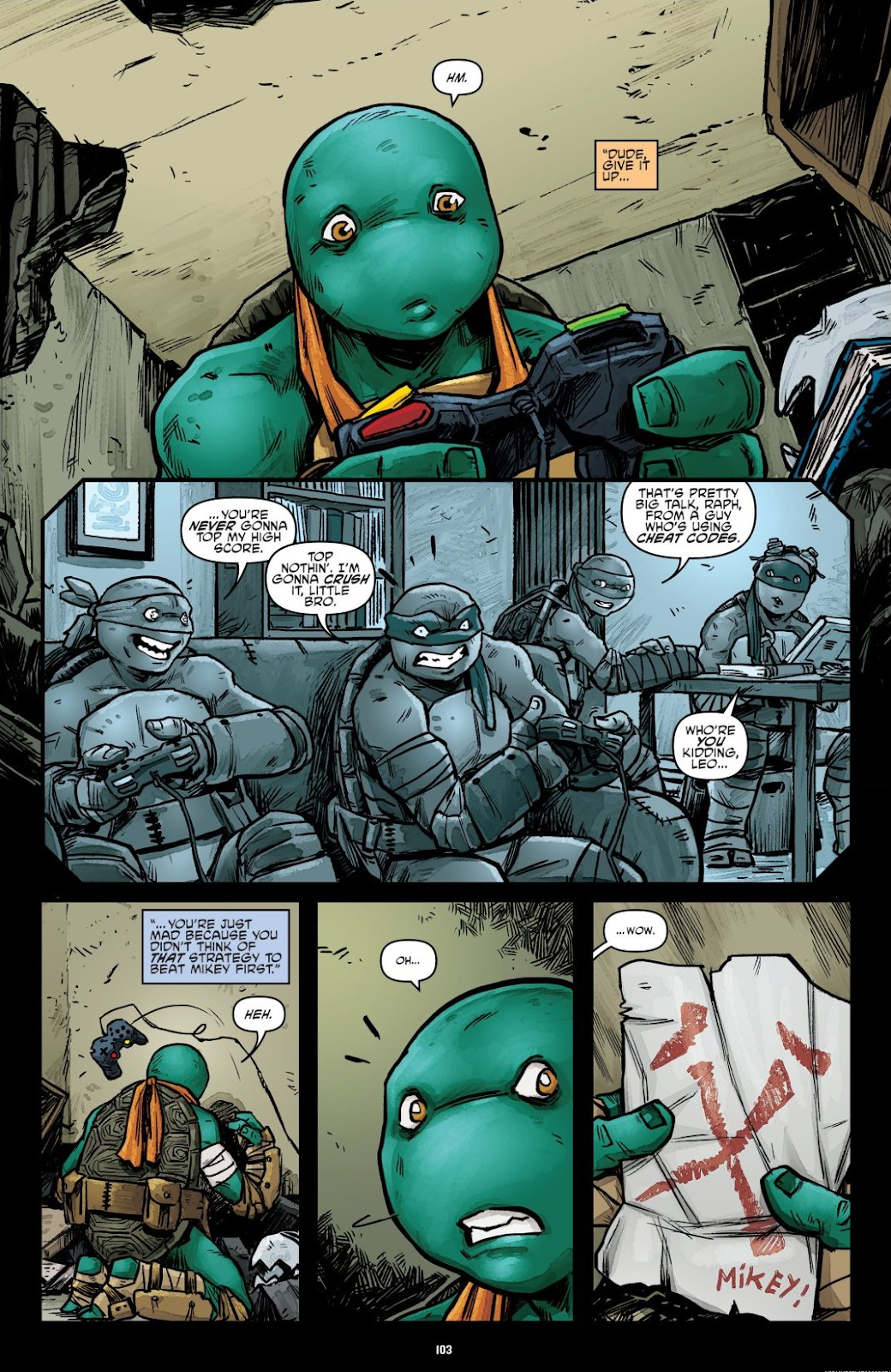 Read online Teenage Mutant Ninja Turtles: The IDW Collection comic -  Issue # TPB 7 (Part 2) - 1